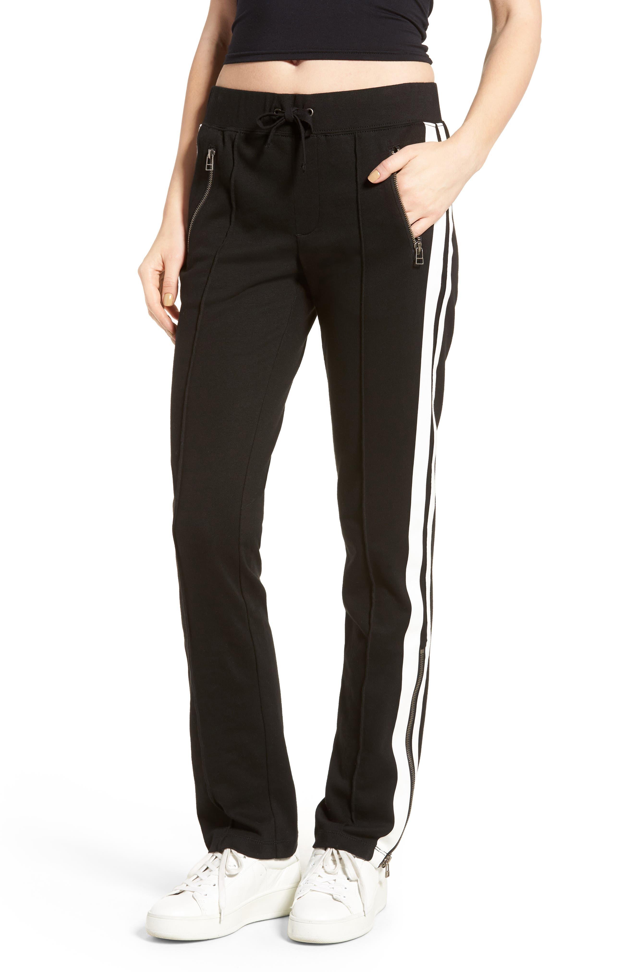 Side Stripe Pants, Main, color, 001