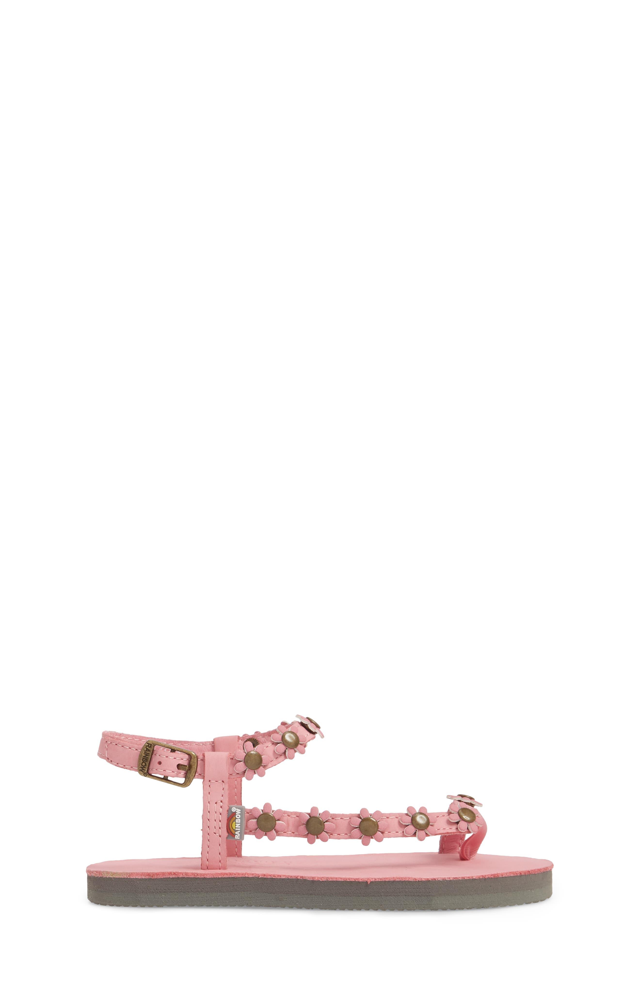 Delilah Flowered Sandal,                             Alternate thumbnail 3, color,                             679