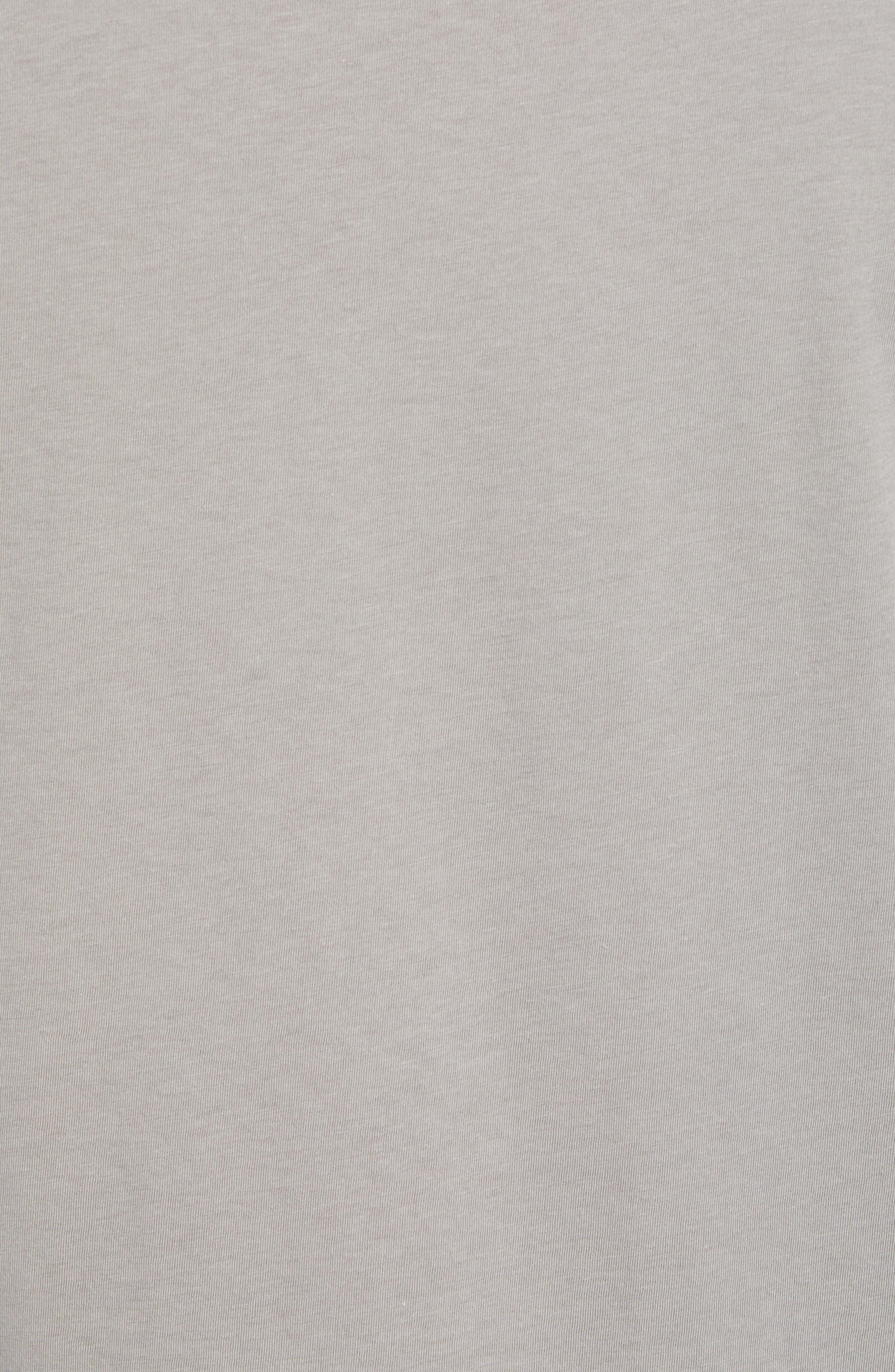 Fitz Roy Bear Crewneck T-Shirt,                             Alternate thumbnail 5, color,                             FEATHER GREY