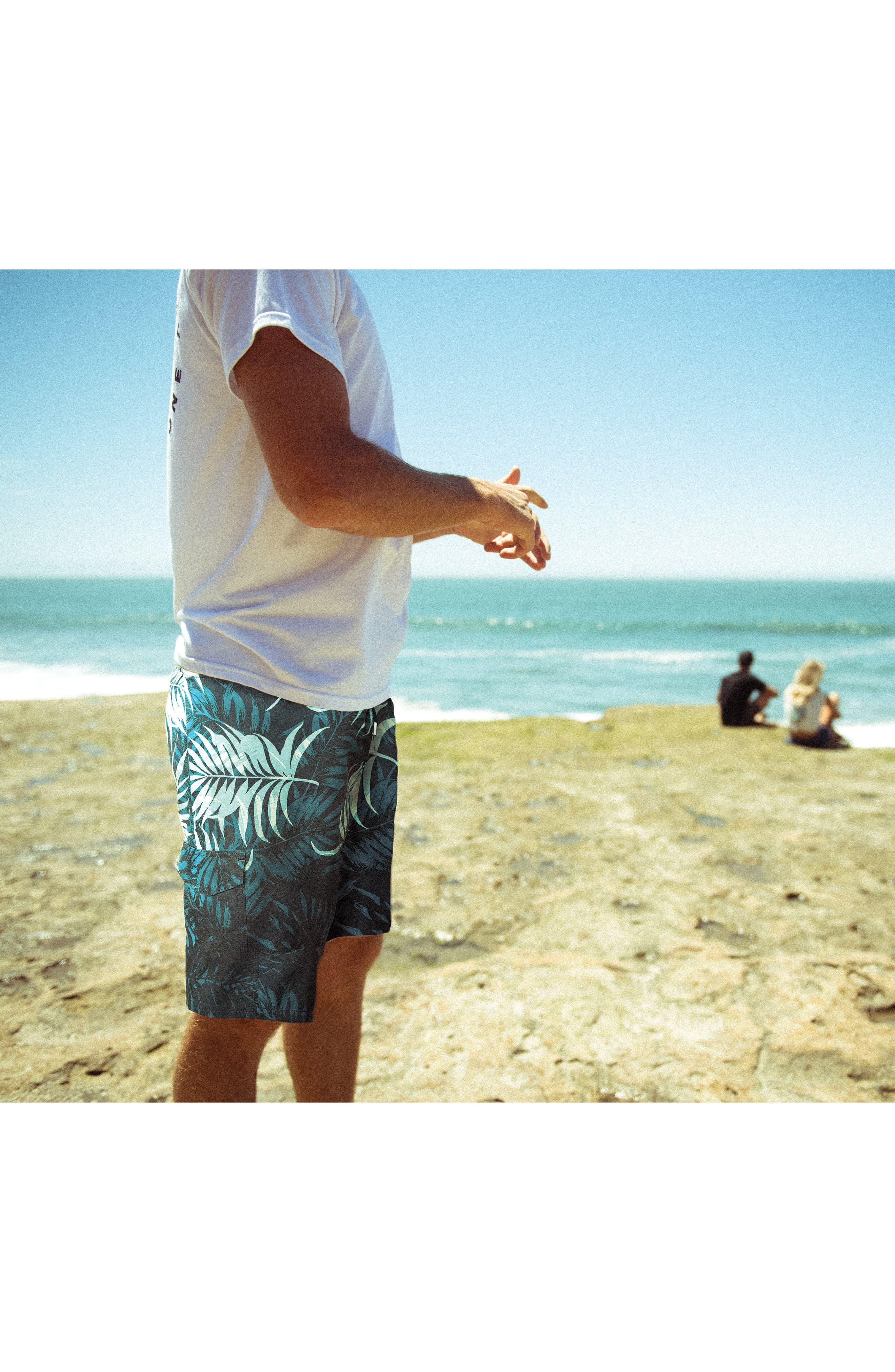 Makena Board Shorts,                             Alternate thumbnail 7, color,                             001