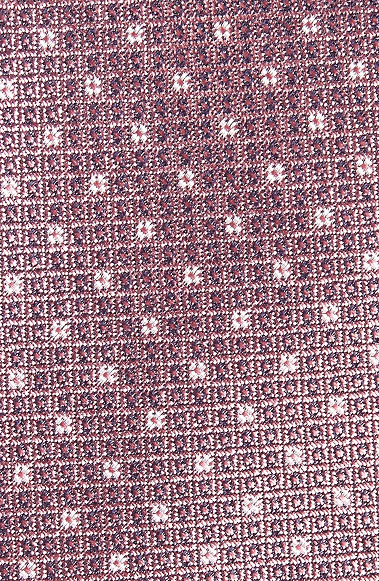 Denson Neat Silk Tie,                             Alternate thumbnail 15, color,