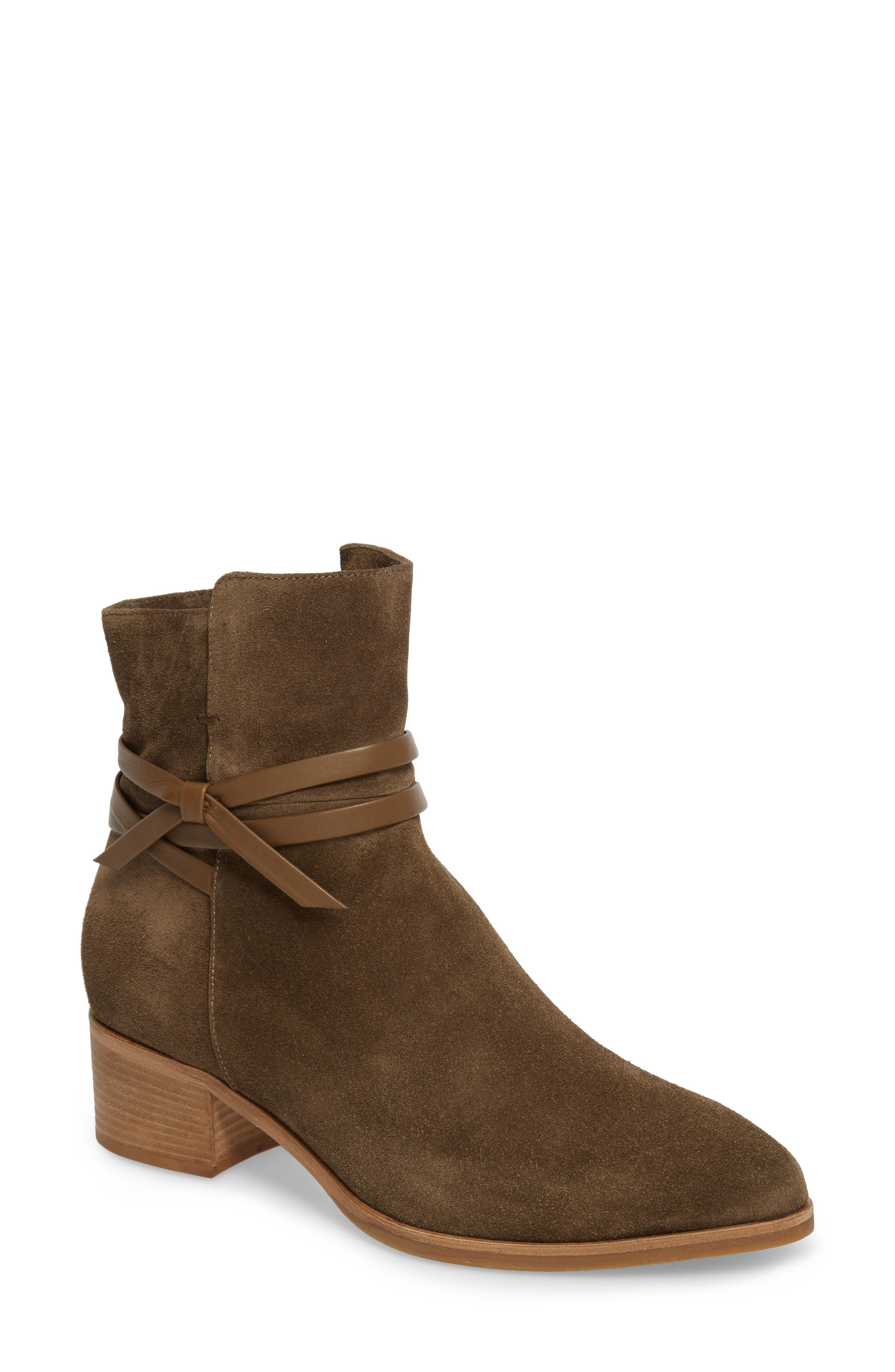 Donata Water-Resistant Bootie,                         Main,                         color, 340