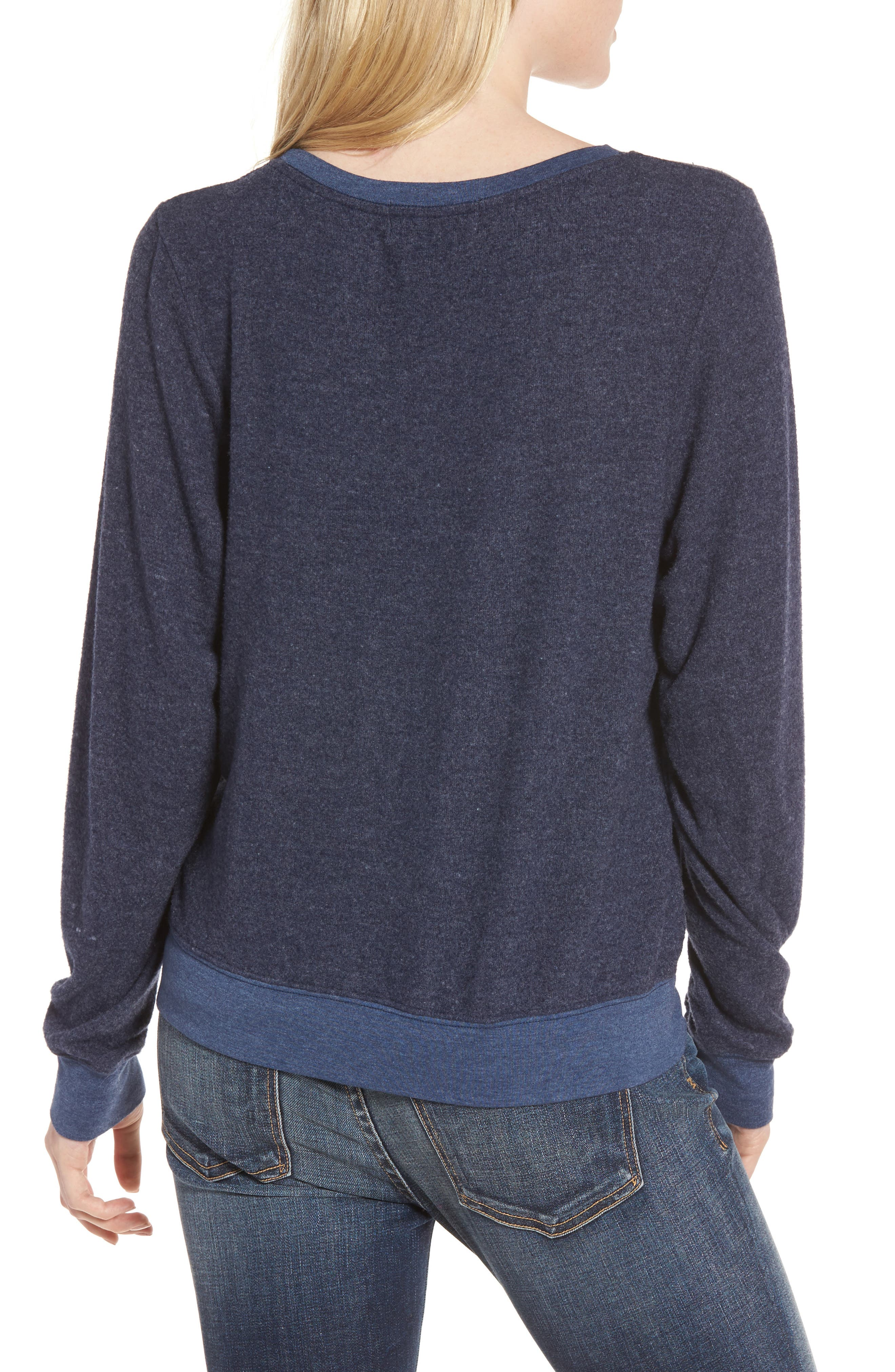 Yes, Please Sweatshirt,                             Alternate thumbnail 2, color,                             401