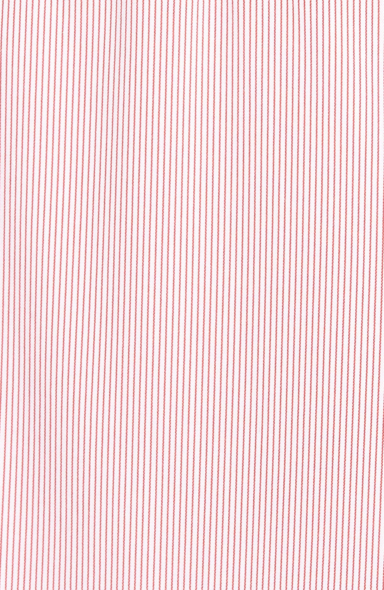 Ruffle Smocked Cold Shoulder Dress,                             Alternate thumbnail 10, color,
