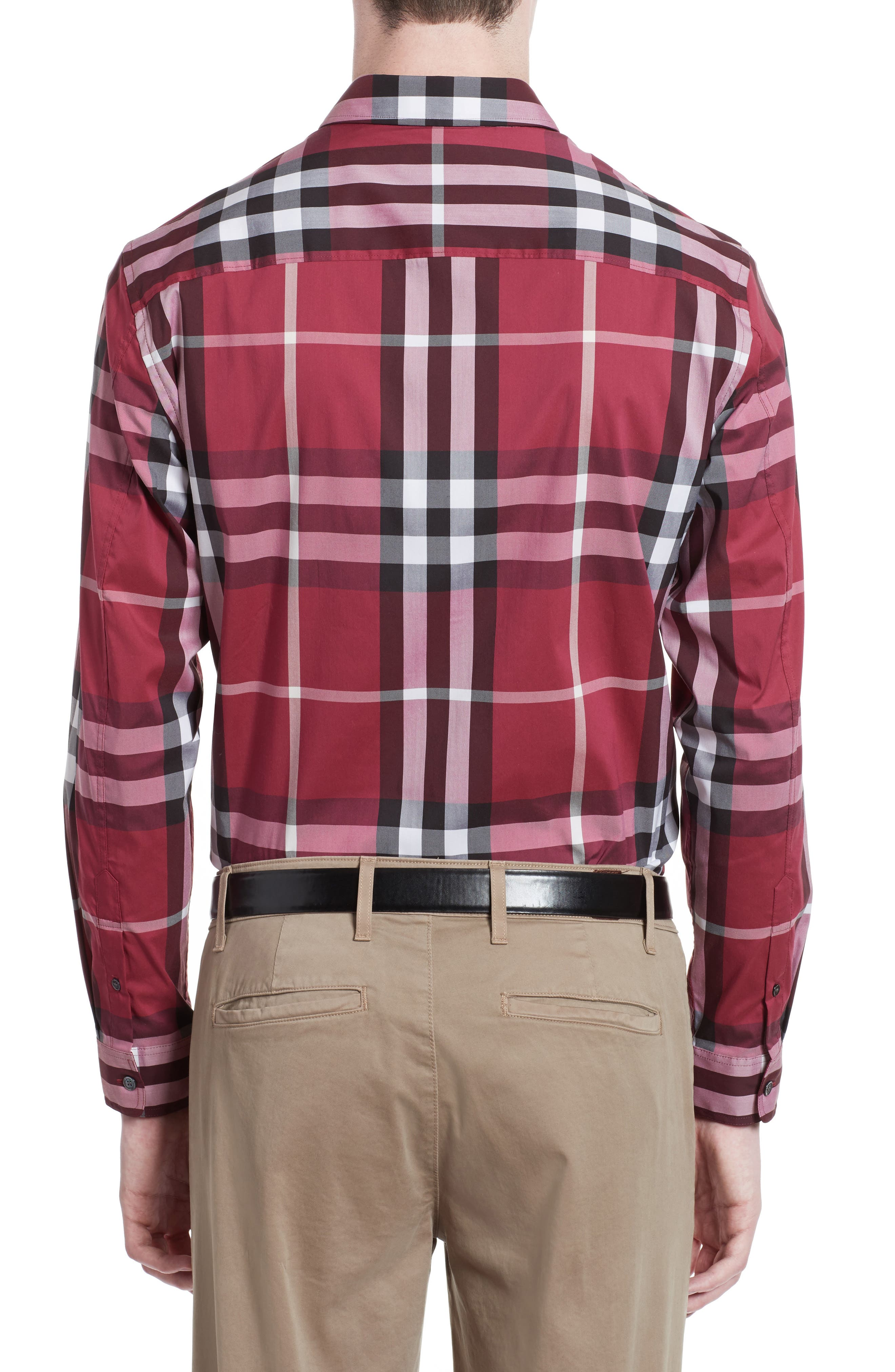 Nelson Check Sport Shirt,                             Alternate thumbnail 51, color,