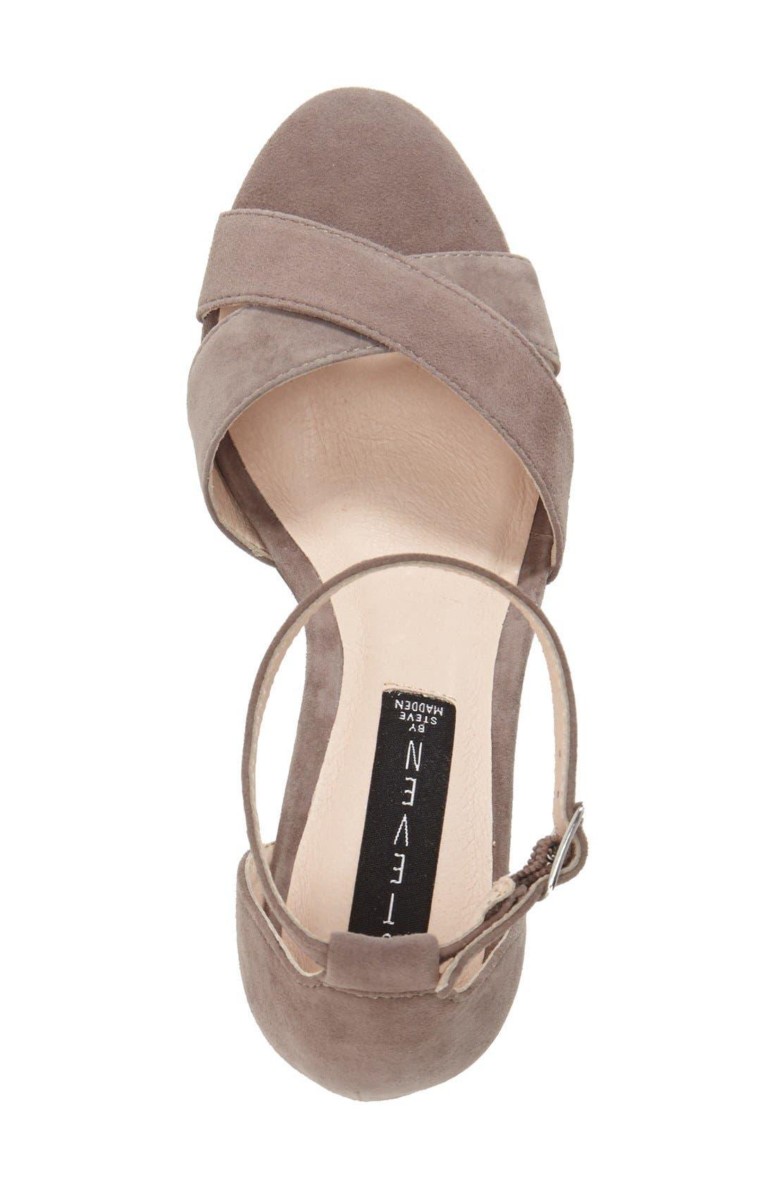 'Voomme' Ankle Strap Sandal,                             Alternate thumbnail 6, color,