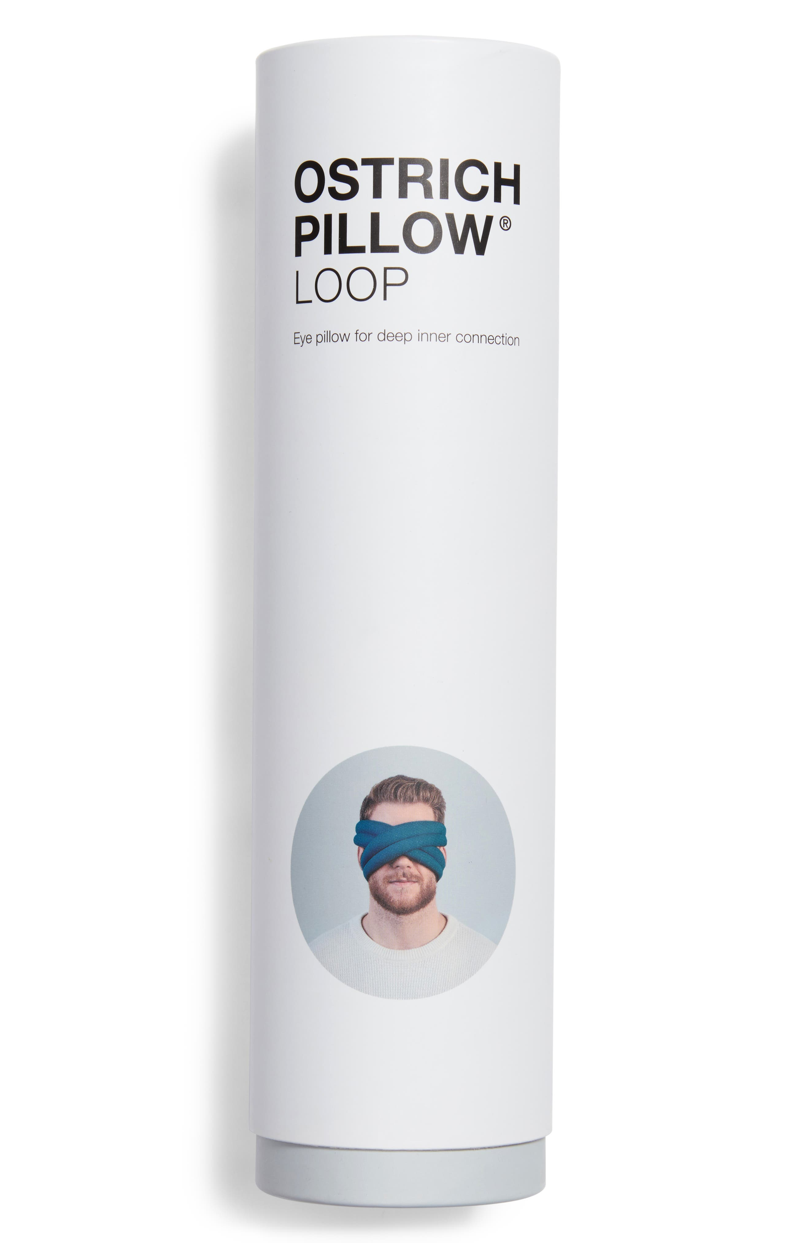 OSTRICHPILLOW<sup>®</sup> Loop Eye Mask,                             Alternate thumbnail 2, color,                             BLUE REEF