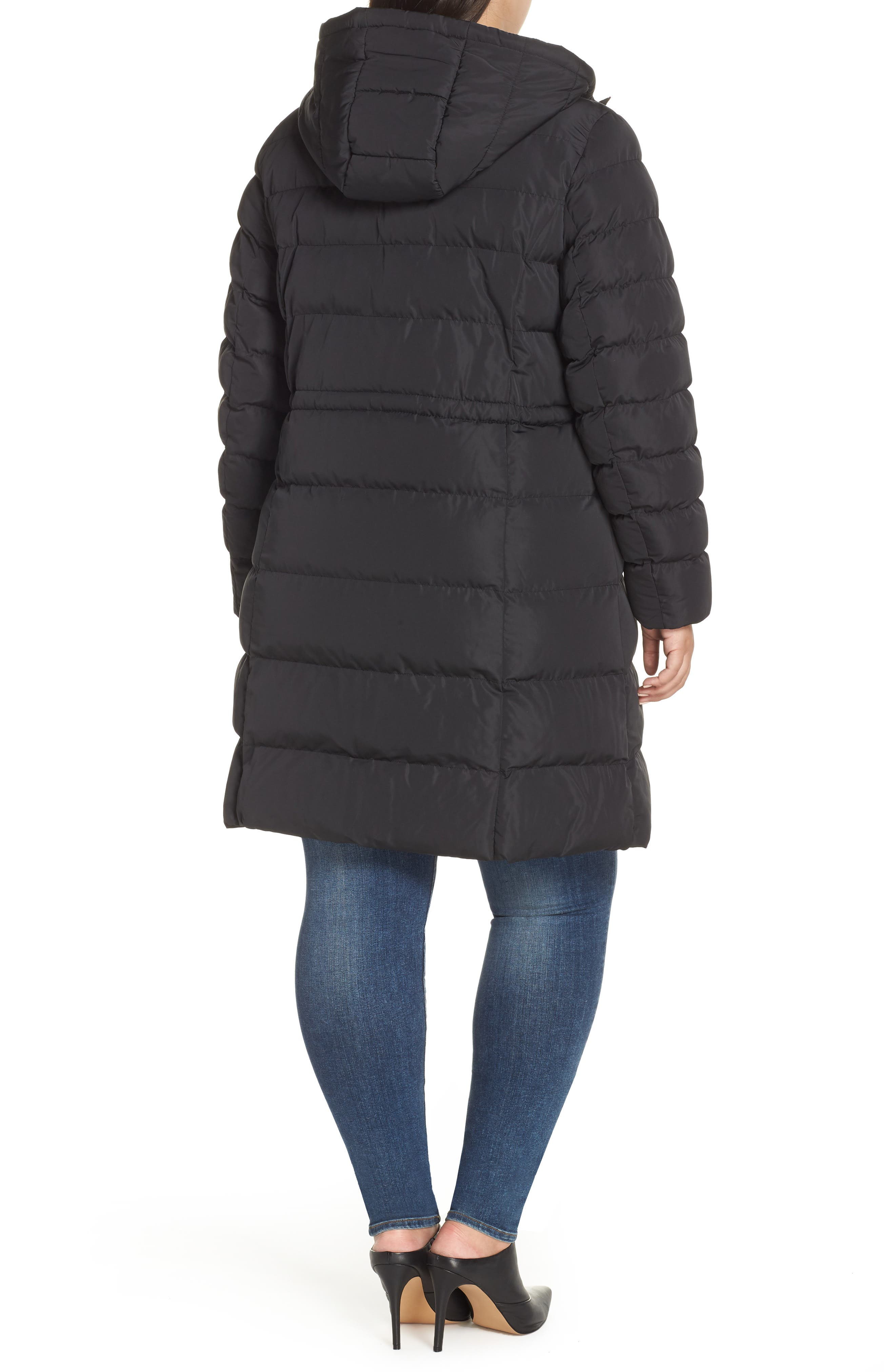 MARC NEW YORK,                             Jersey Hooded Parka,                             Alternate thumbnail 2, color,                             001