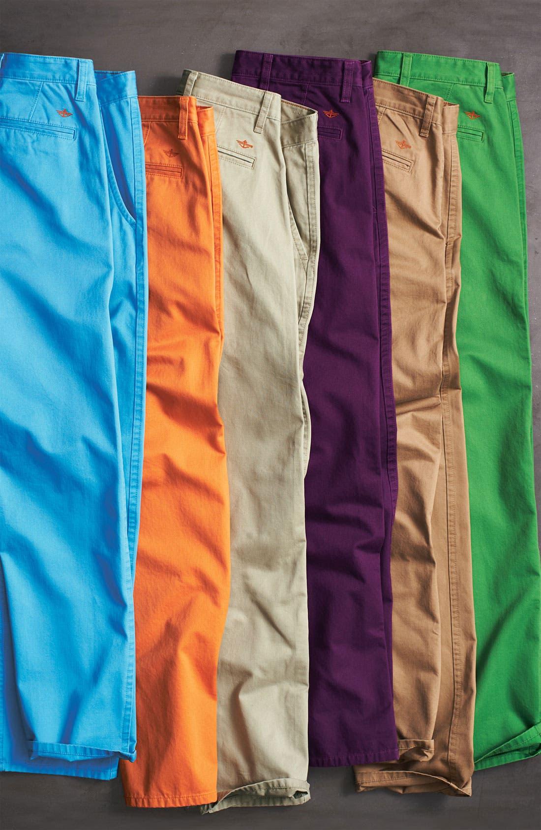 DOCKERS<SUP>®</SUP>,                             'Alpha Khaki' Slim Straight Leg Chinos,                             Alternate thumbnail 3, color,                             019