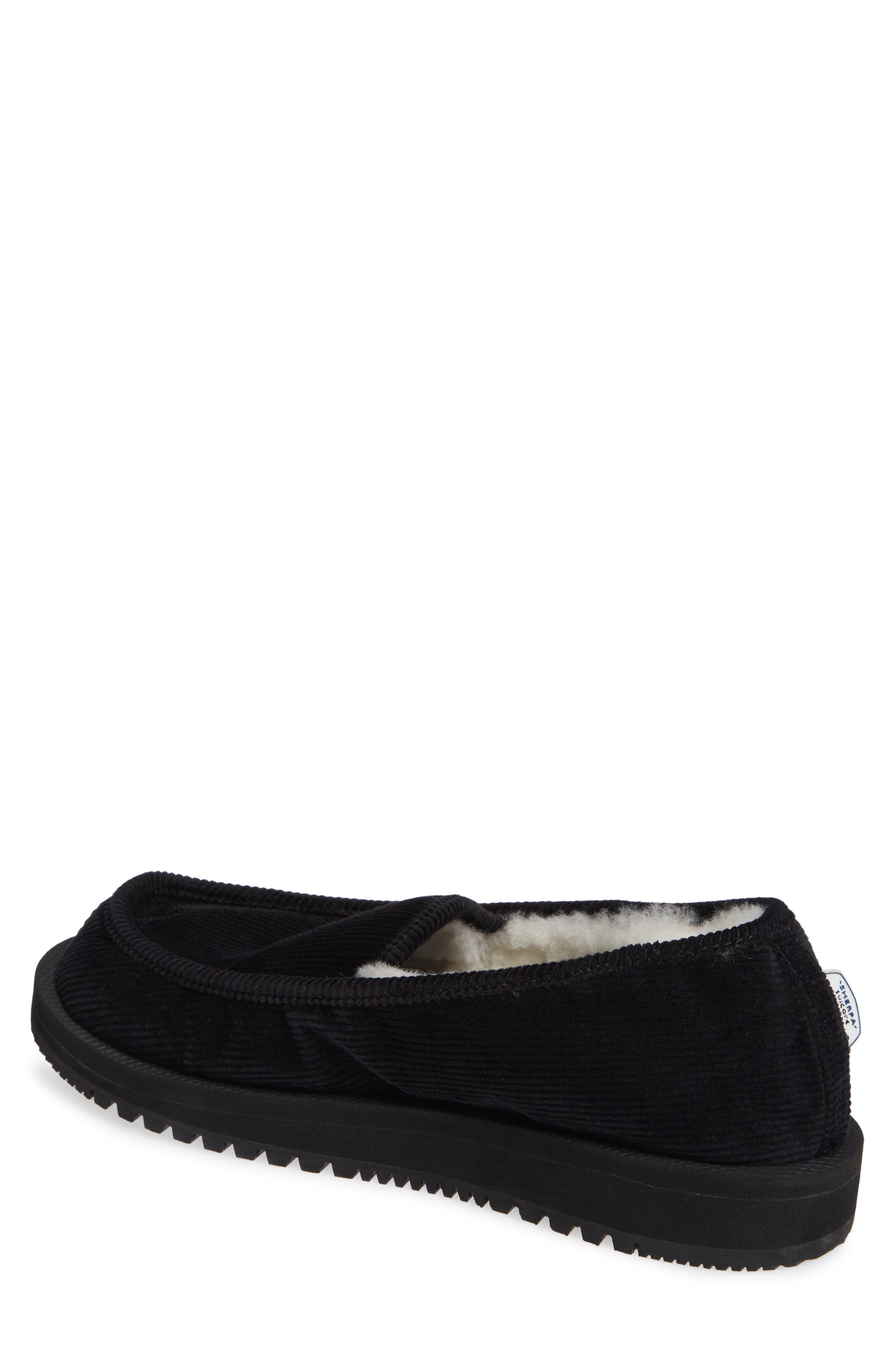 Genuine Shearling Slipper,                             Alternate thumbnail 2, color,                             001