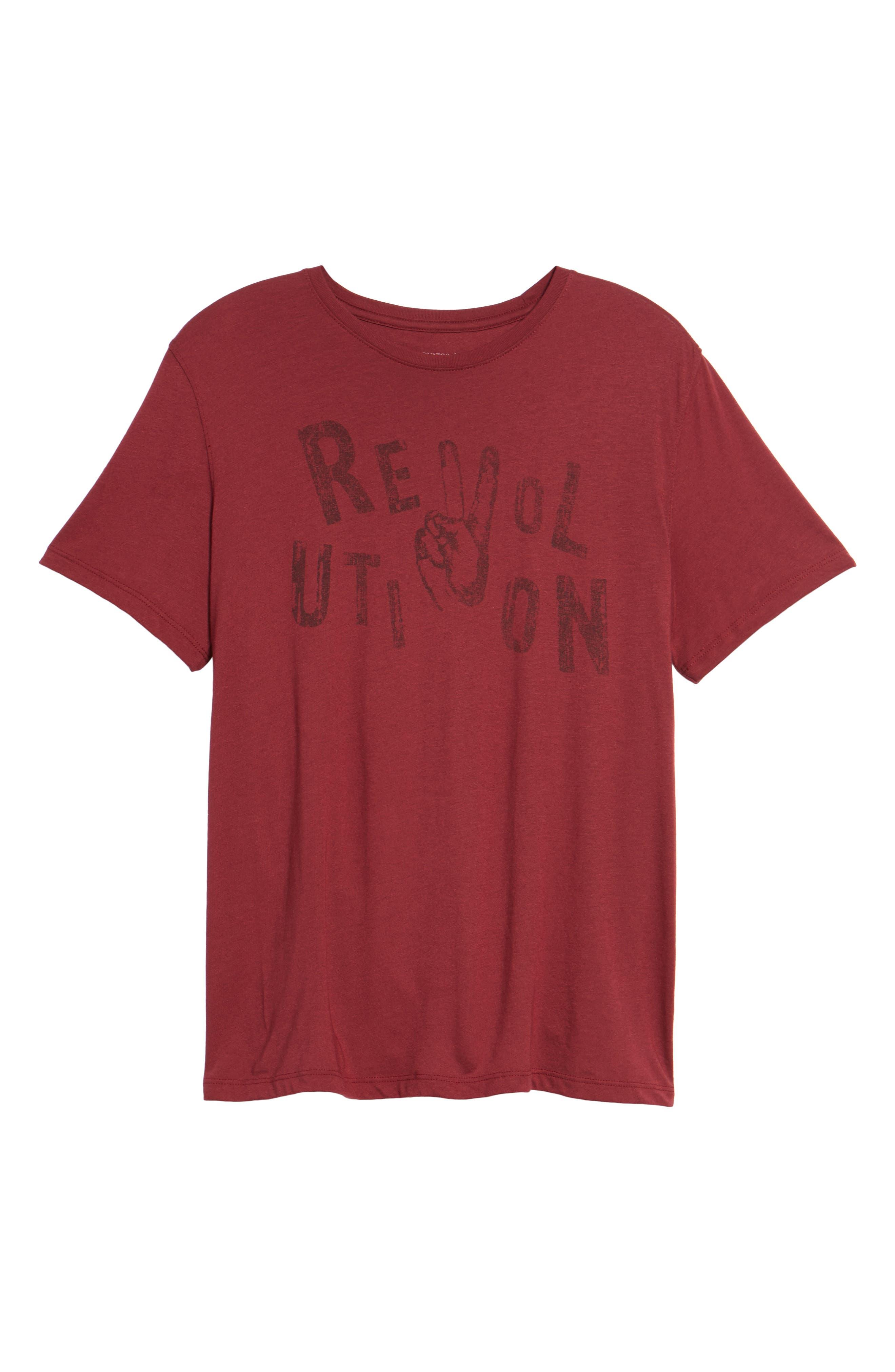 Revolution Graphic T-Shirt,                             Alternate thumbnail 12, color,