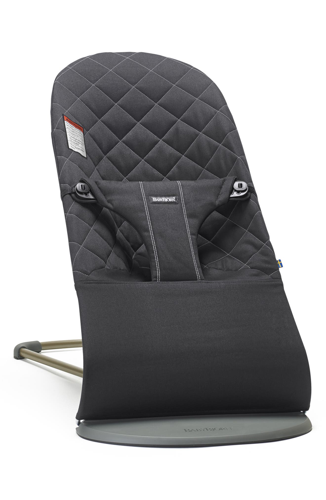 Infant Babybjorn Bouncer Bliss Convertible Quilted Baby Bouncer Size One Size  Black