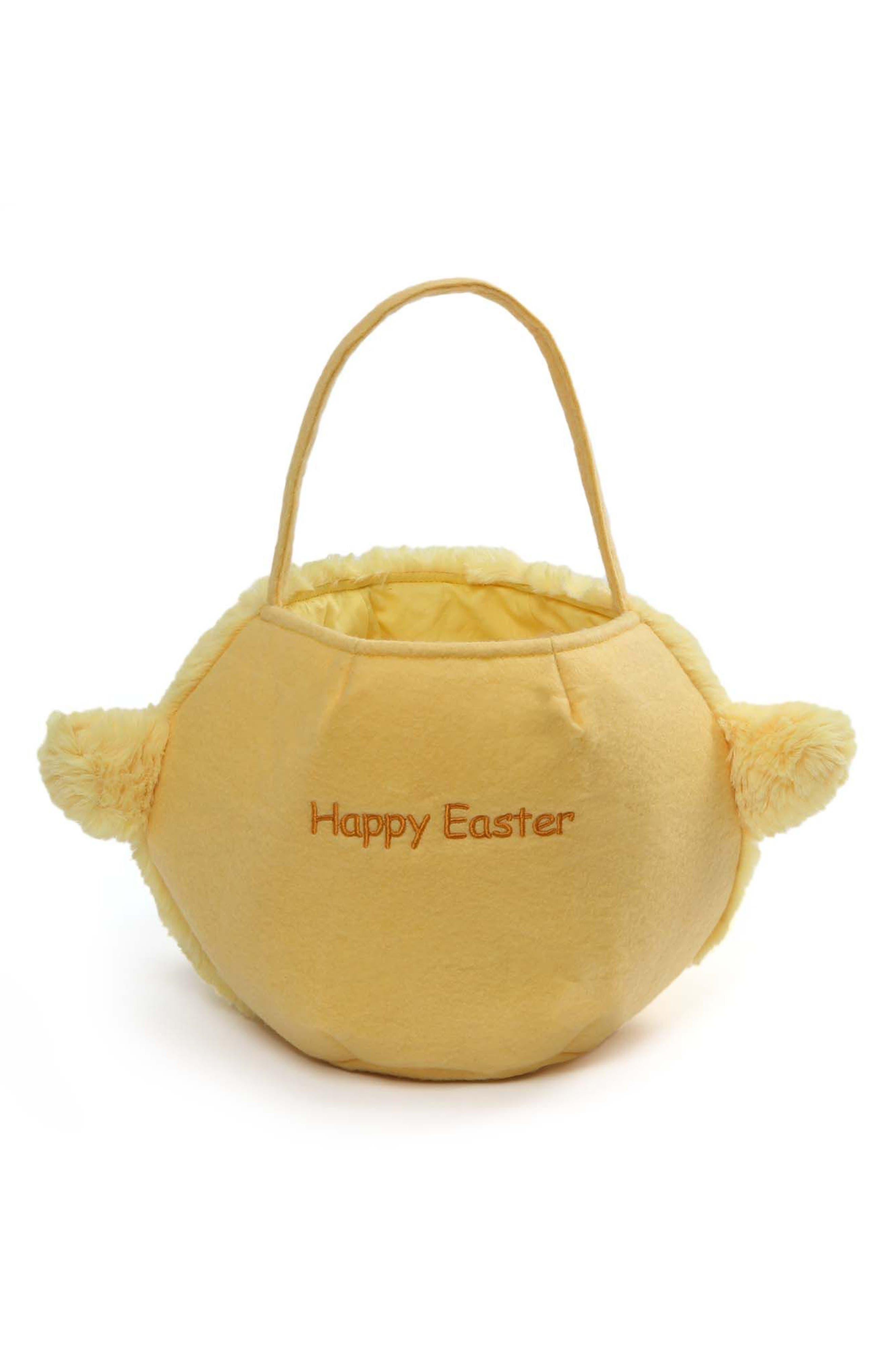 Baby Chick Plush Easter Basket,                             Alternate thumbnail 2, color,                             700