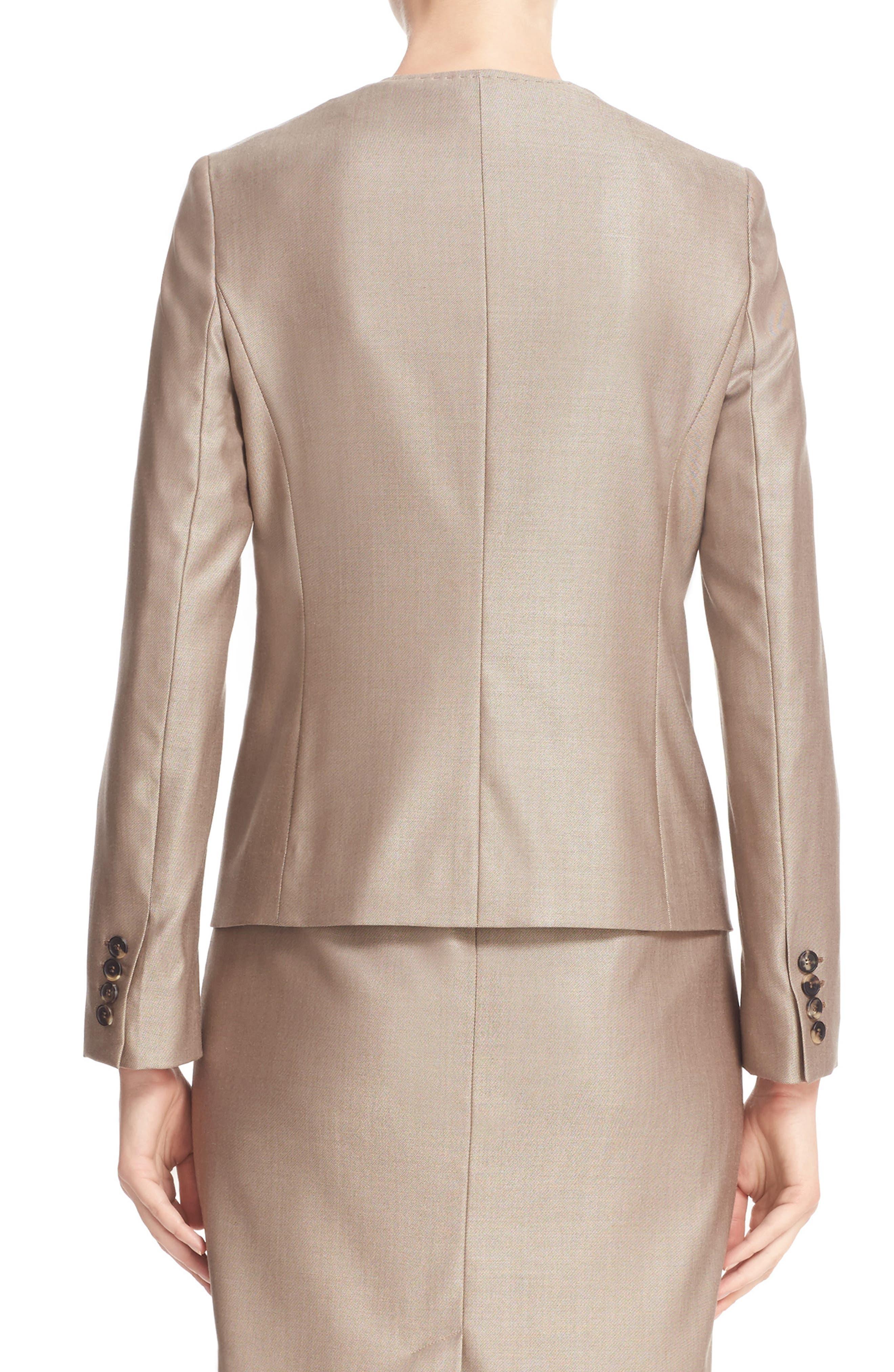 Erba Asymmetrical Jacket,                             Alternate thumbnail 3, color,                             220