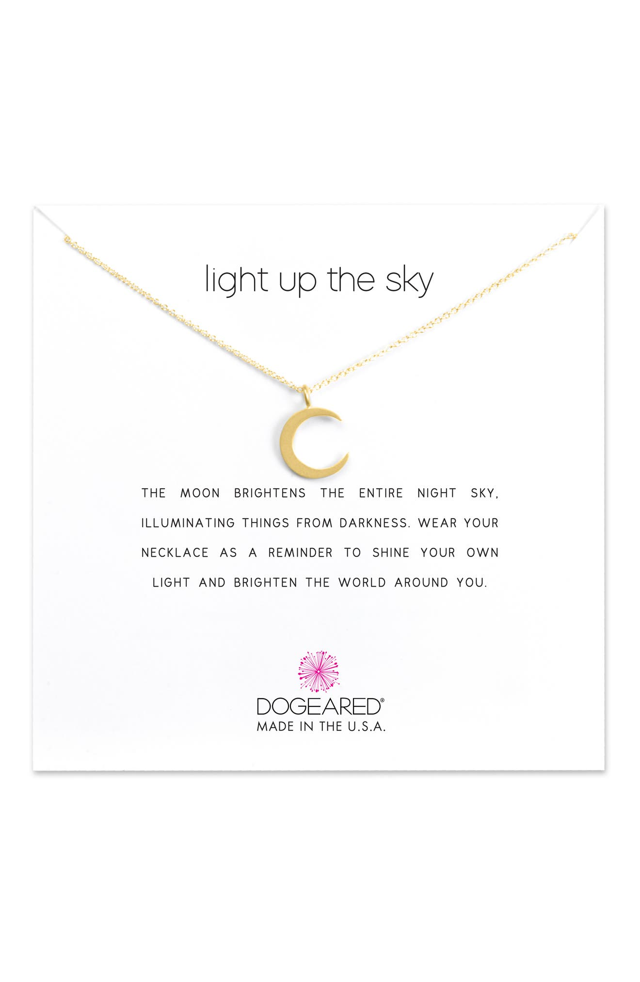 Light Up the Sky Pendant Necklace,                             Alternate thumbnail 3, color,                             GOLD