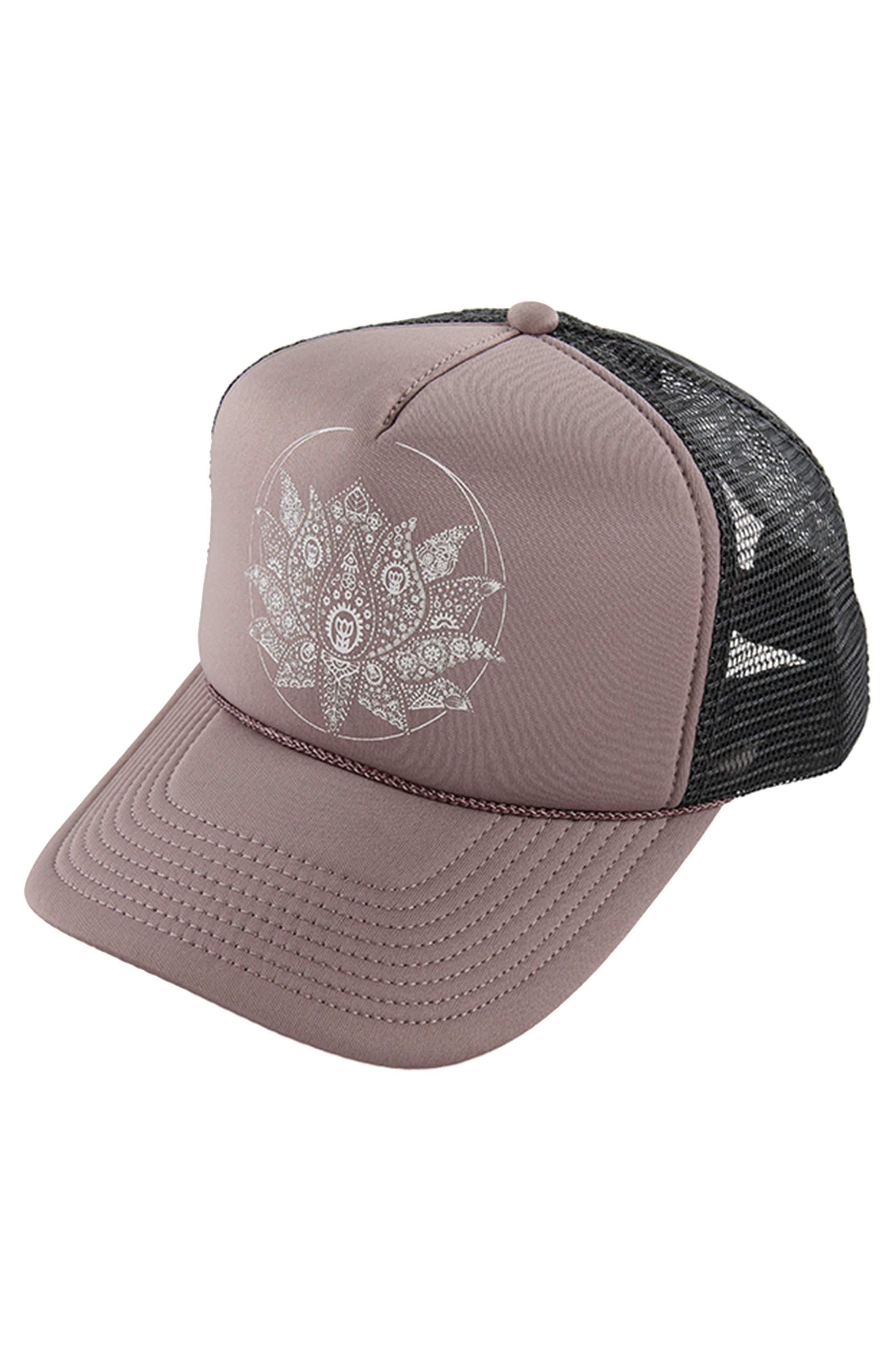 Zen Life Aloha Trucker Hat,                             Main thumbnail 1, color,                             509