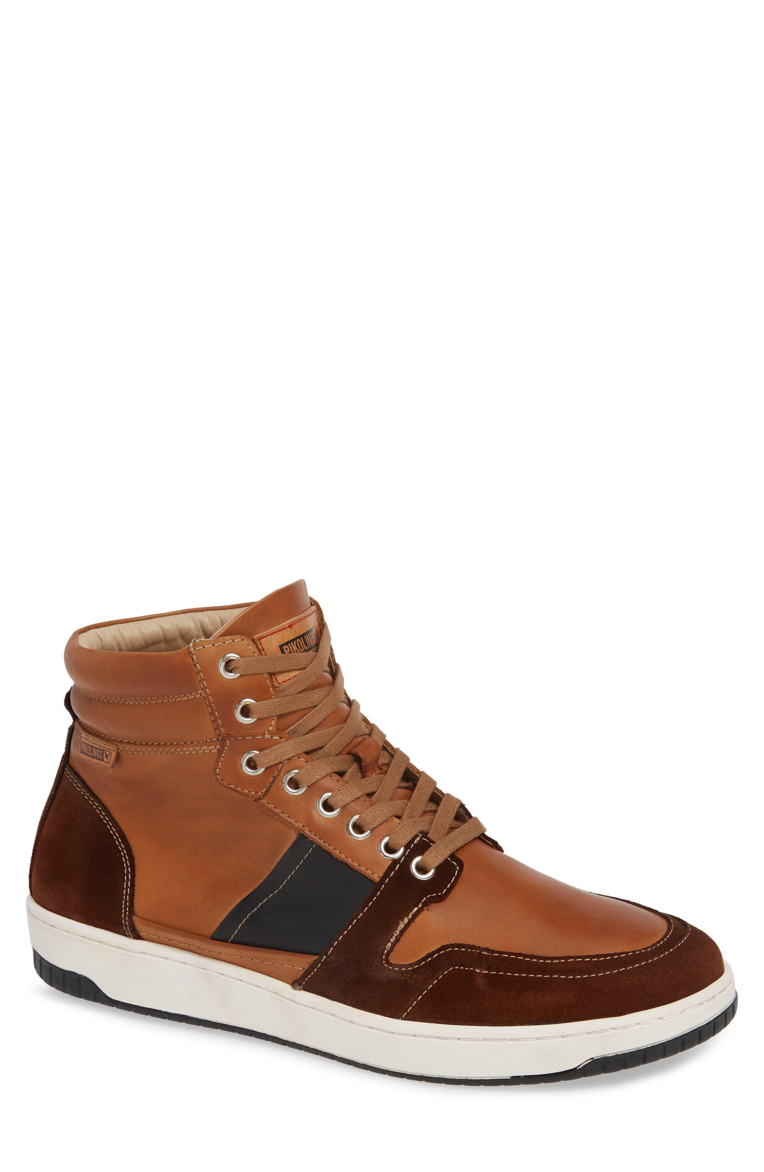 Corinto Sneaker,                         Main,                         color, BRANDY BLACK
