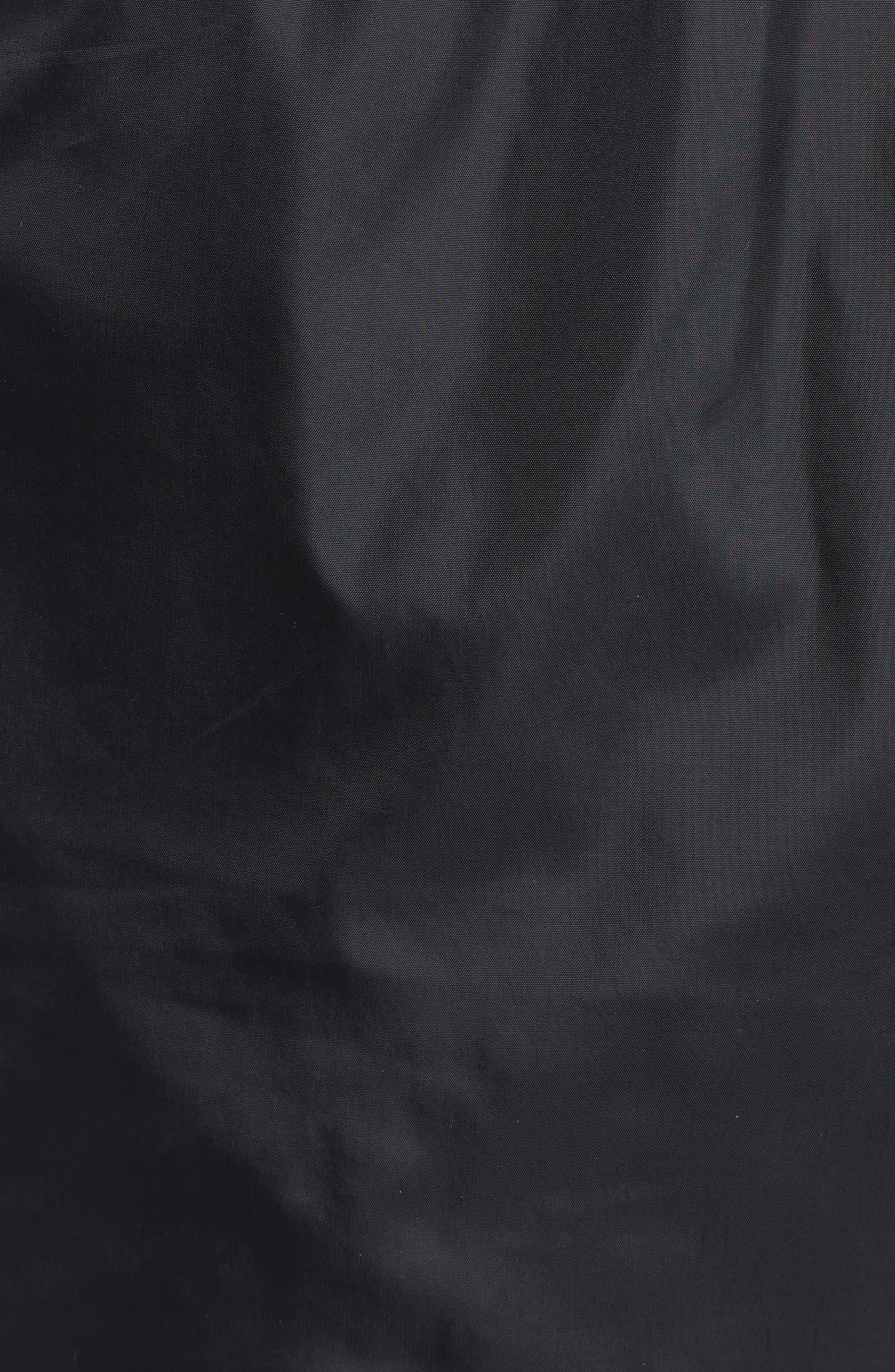 UNDER ARMOUR,                             Sportstyle Wind Pants,                             Alternate thumbnail 5, color,                             BLACK