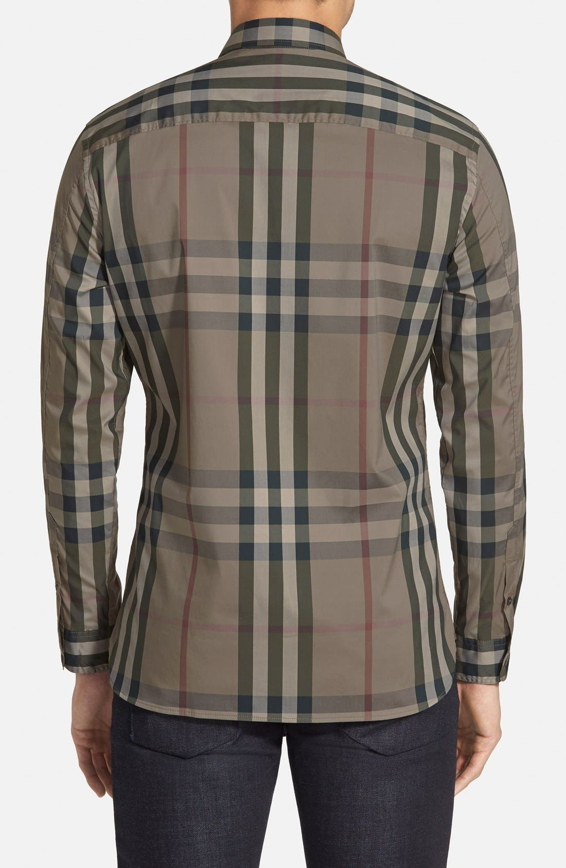 Nelson Check Sport Shirt,                             Alternate thumbnail 32, color,