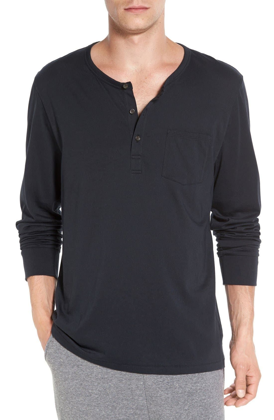 Classic Henley,                             Main thumbnail 1, color,                             001
