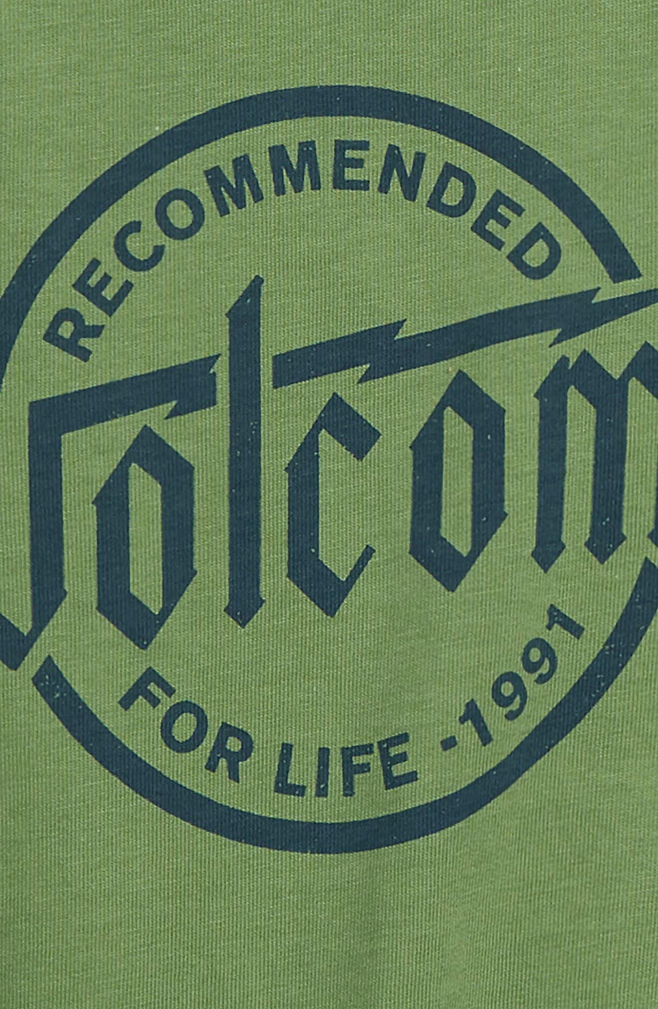 Boltz Logo Graphic T-Shirt,                             Alternate thumbnail 3, color,                             367