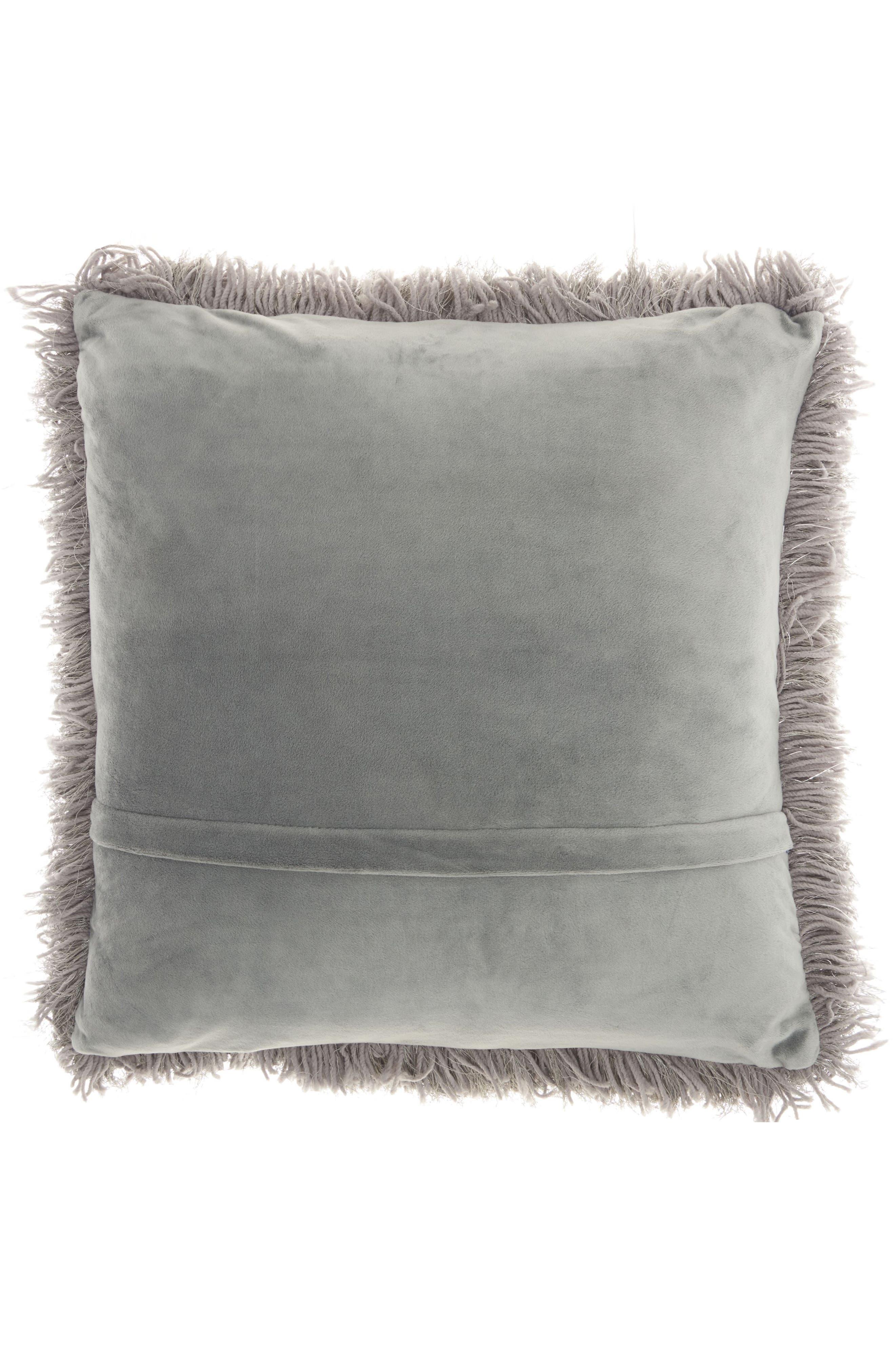 Shag Pillow,                             Alternate thumbnail 2, color,                             020