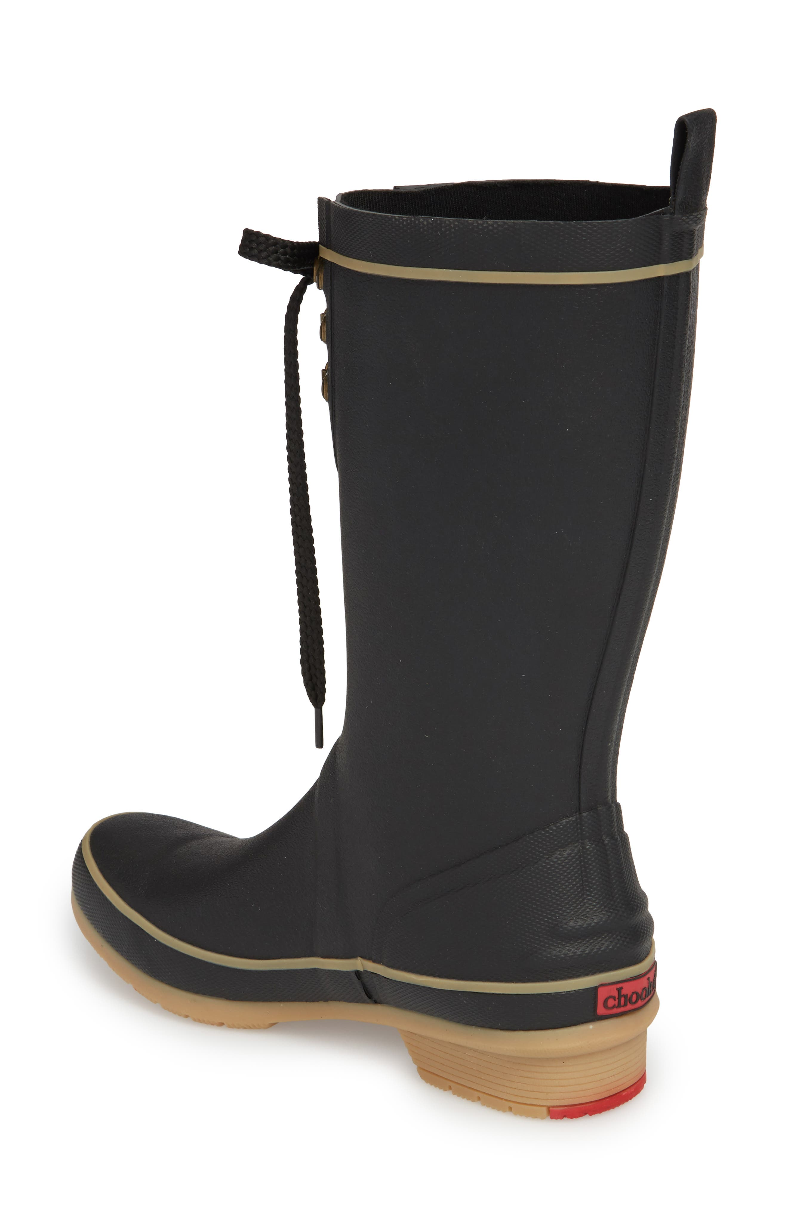 Whidbey Rain Boots,                             Alternate thumbnail 2, color,                             BLACK
