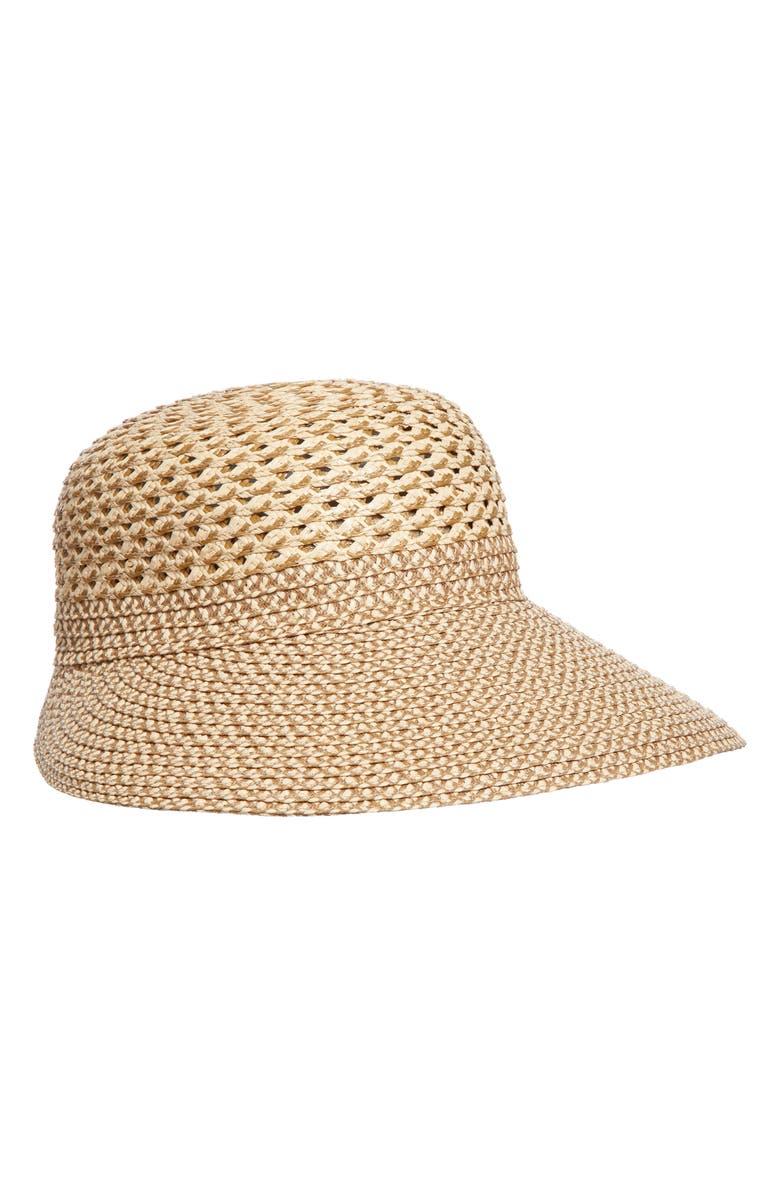 Eric Javits Trophy Gal Straw Sun Hat - Brown In Peanut