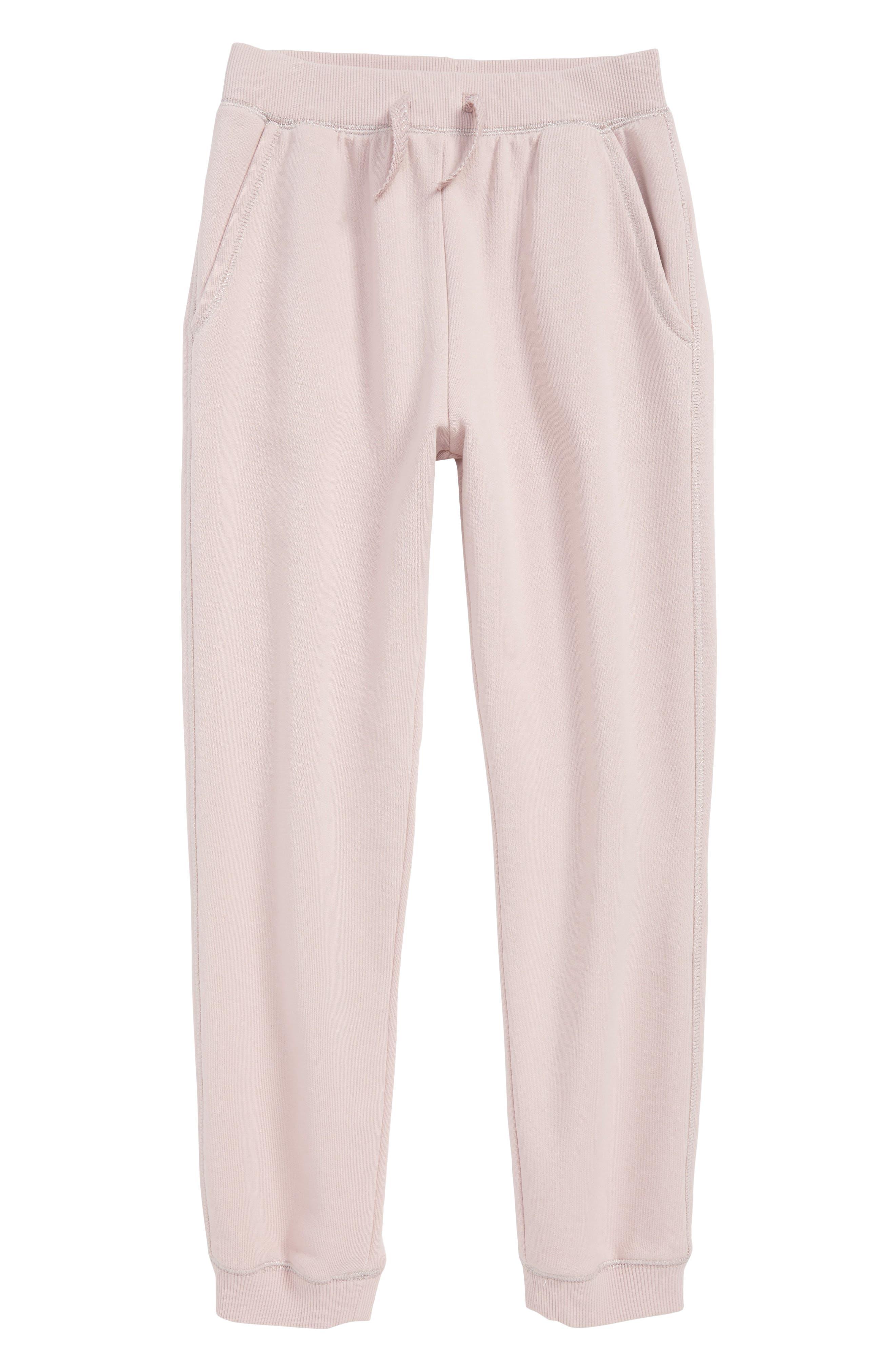 Millie Jogger Pants,                         Main,                         color, PALE PINK