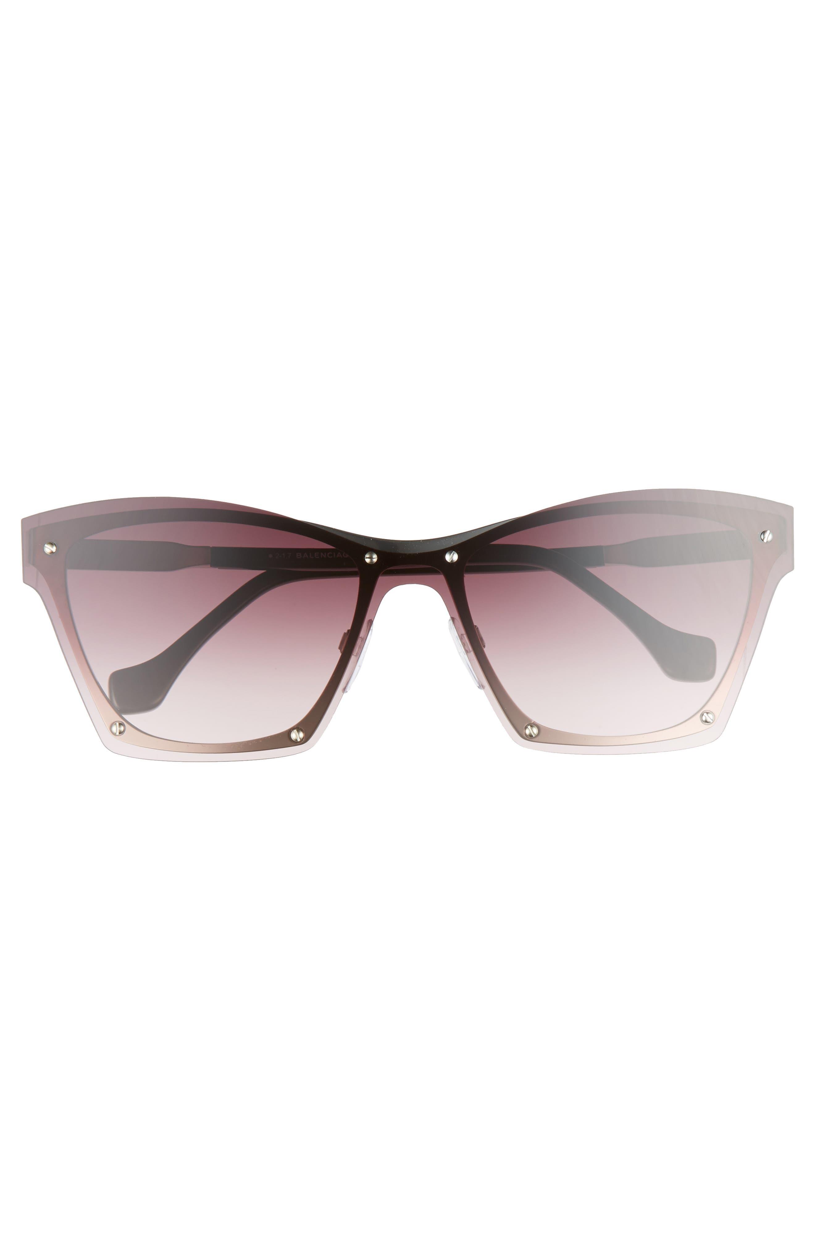 55mm Frameless Sunglasses,                             Alternate thumbnail 8, color,