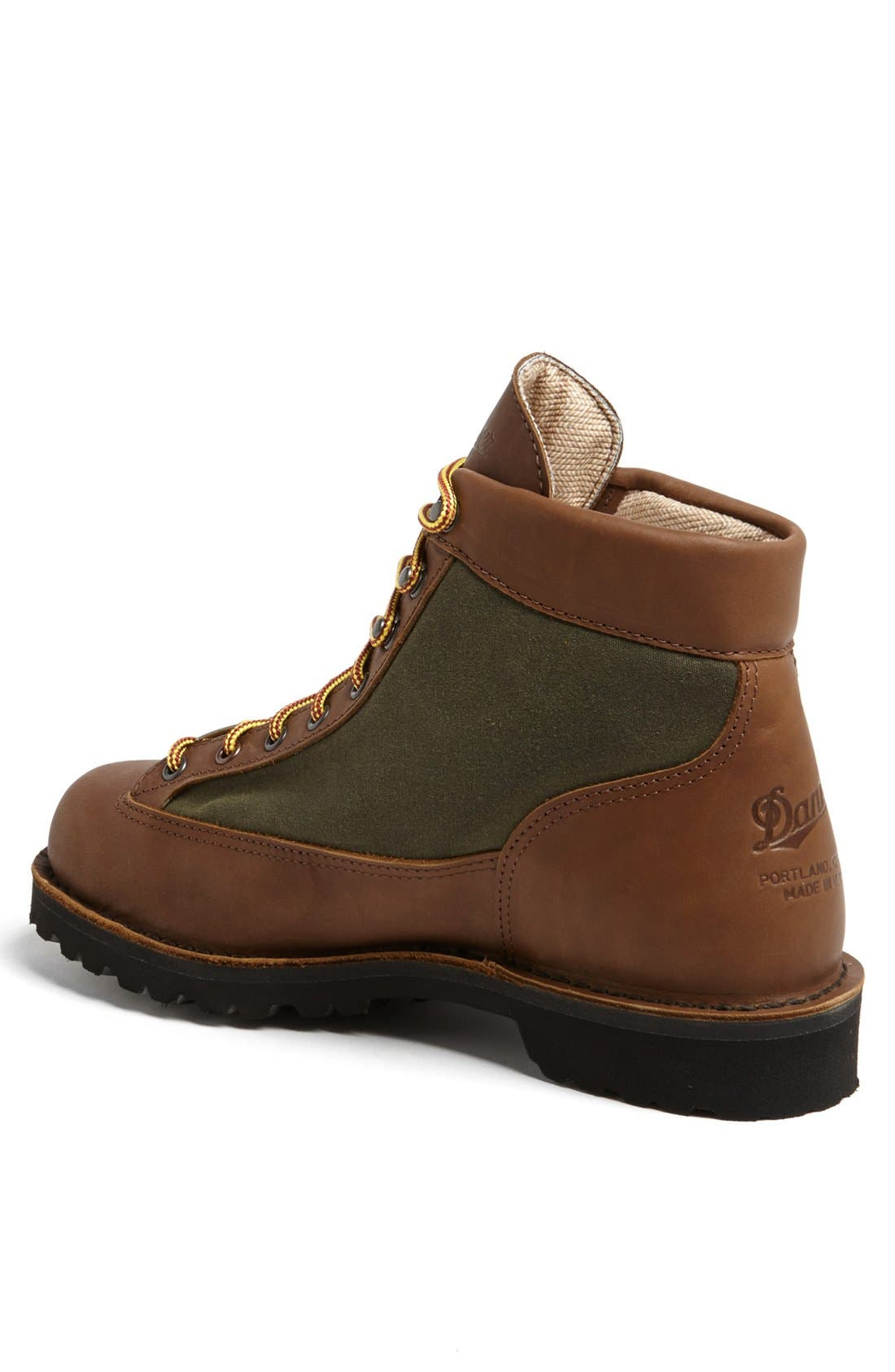 'Light Timber' Round Toe Boot,                             Alternate thumbnail 3, color,                             200