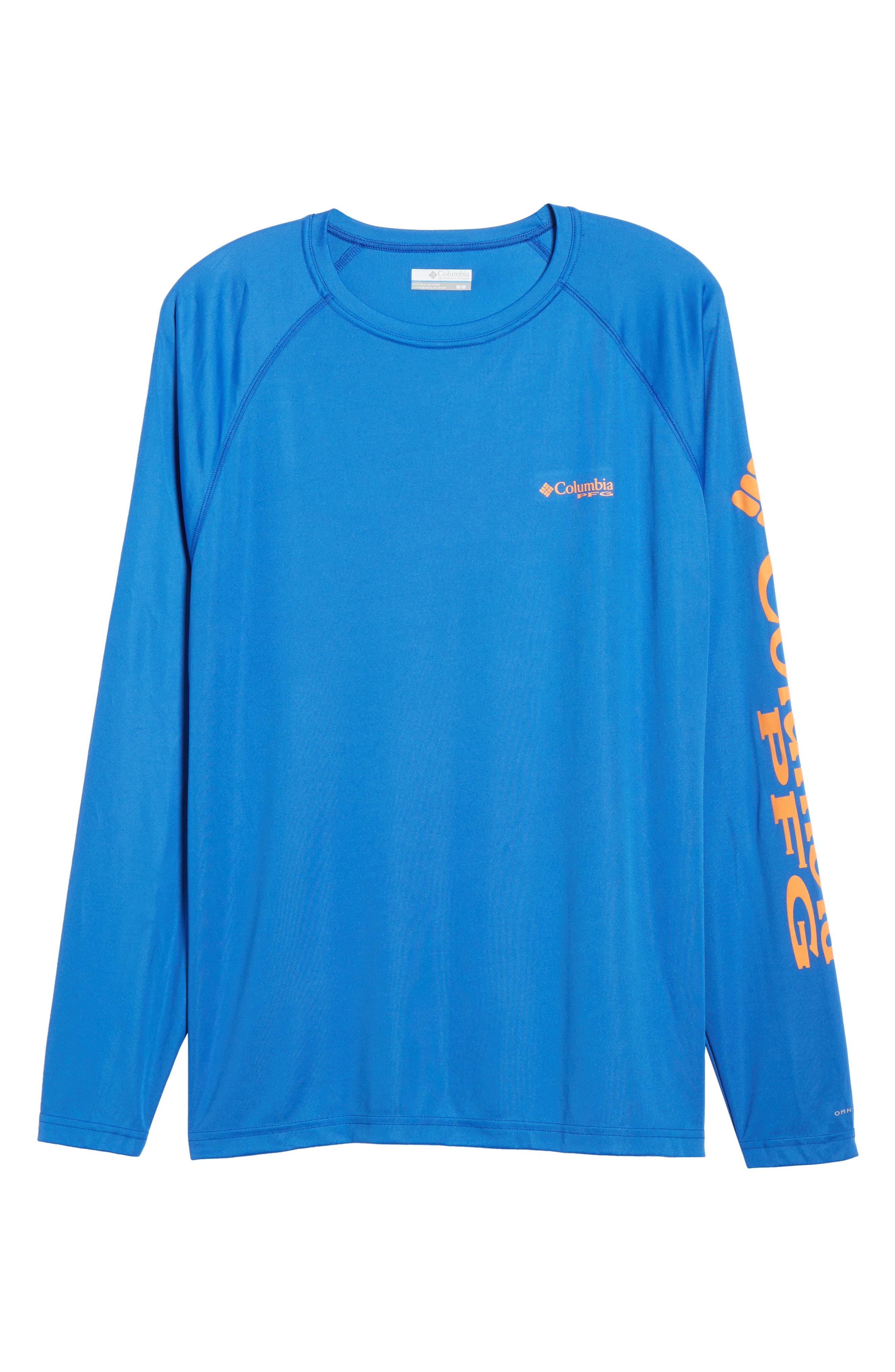 PFG Terminal Tackle Performance Long Sleeve T-Shirt,                             Alternate thumbnail 53, color,