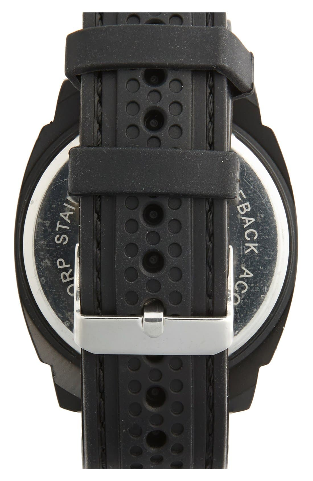 Touch LED Digital Silicone Strap Watch, 50mm,                             Alternate thumbnail 2, color,                             001