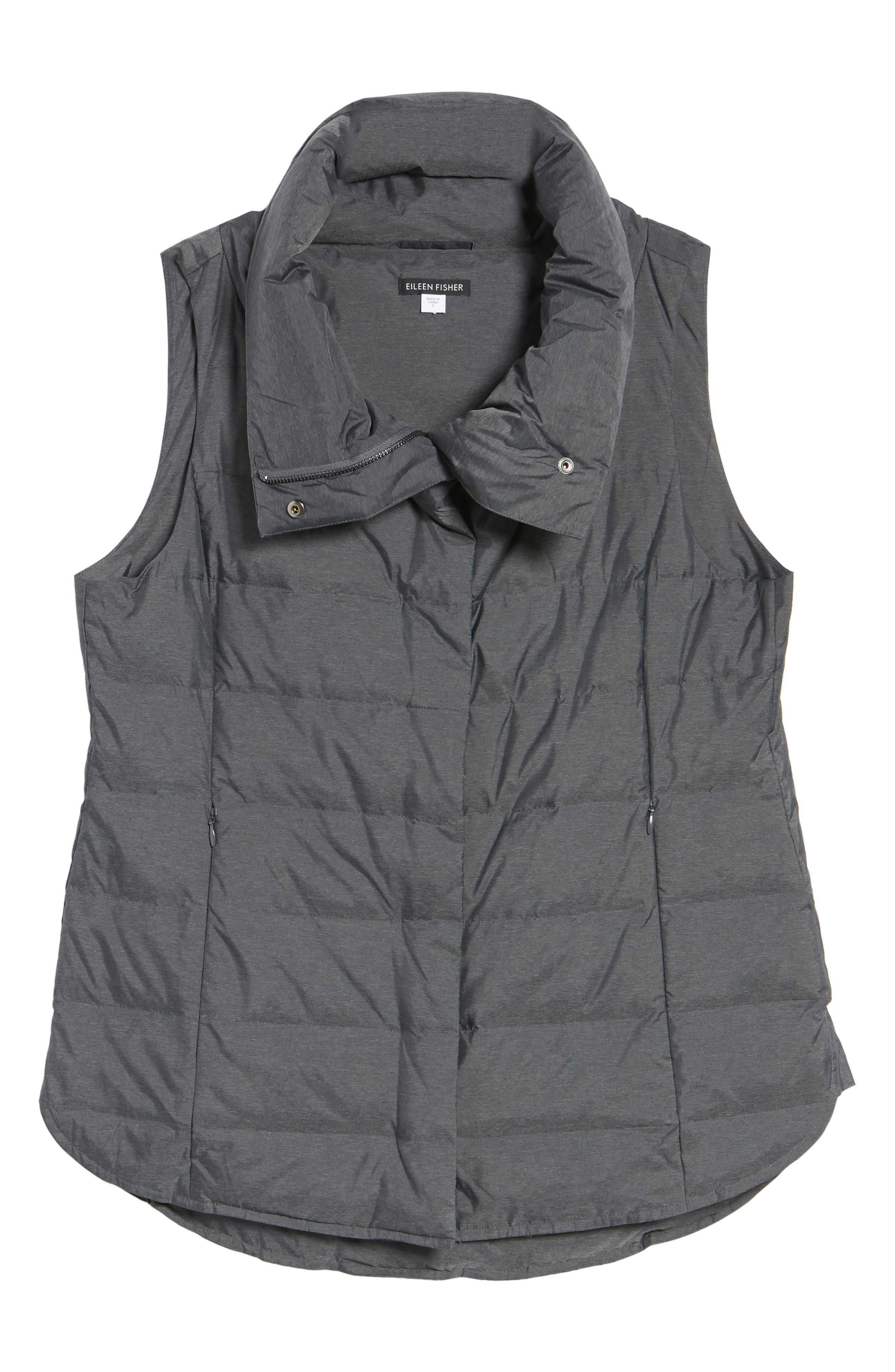 Stand Collar Vest,                             Alternate thumbnail 5, color,                             021