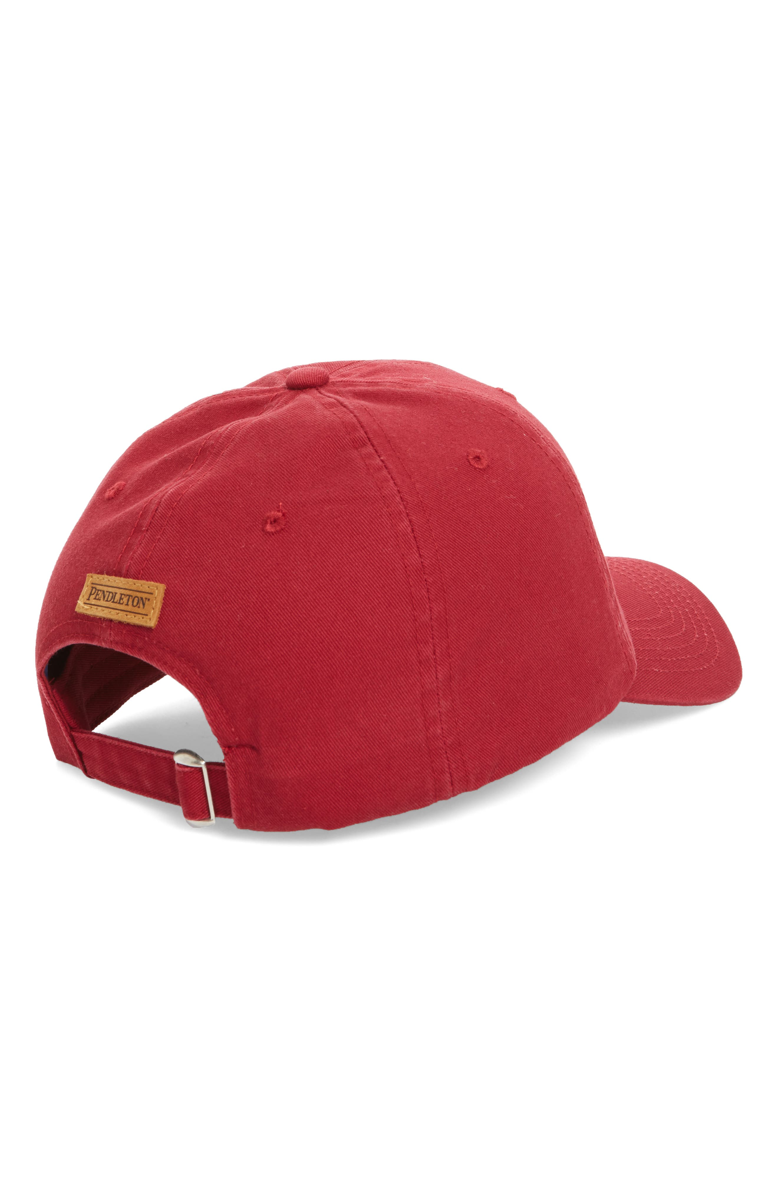 Embroidered Ball Cap,                             Alternate thumbnail 6, color,