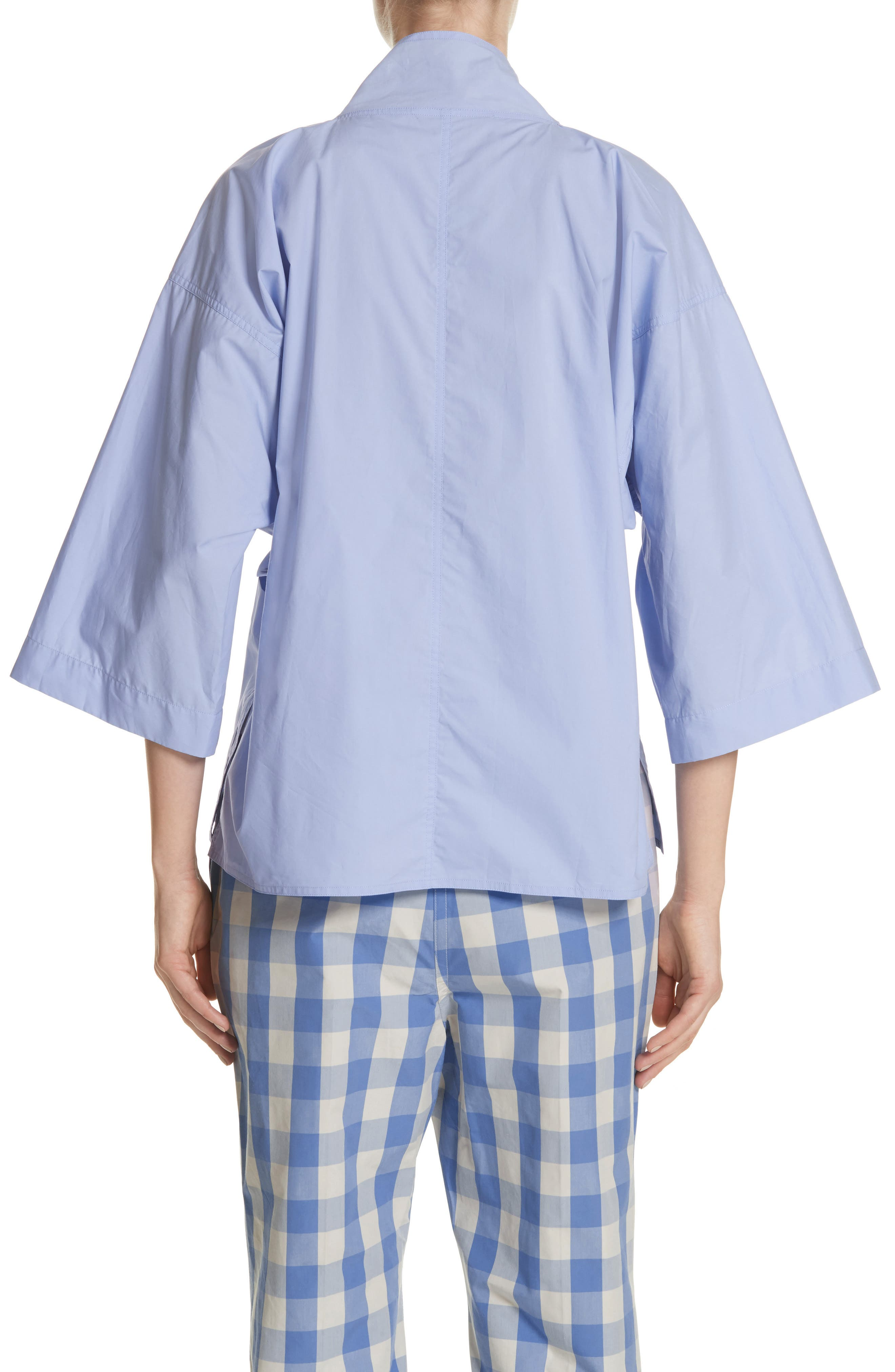 Belted Blouse,                             Alternate thumbnail 2, color,                             400