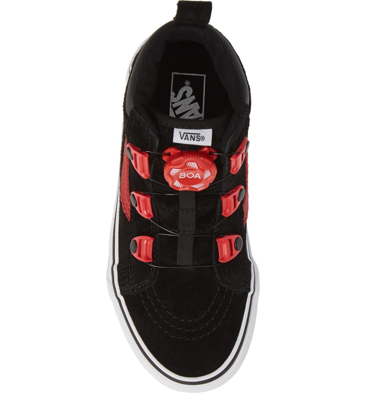 3b6bbf26fd0499 Vans Sk8-Hi MTE Boa Sneaker (Toddler