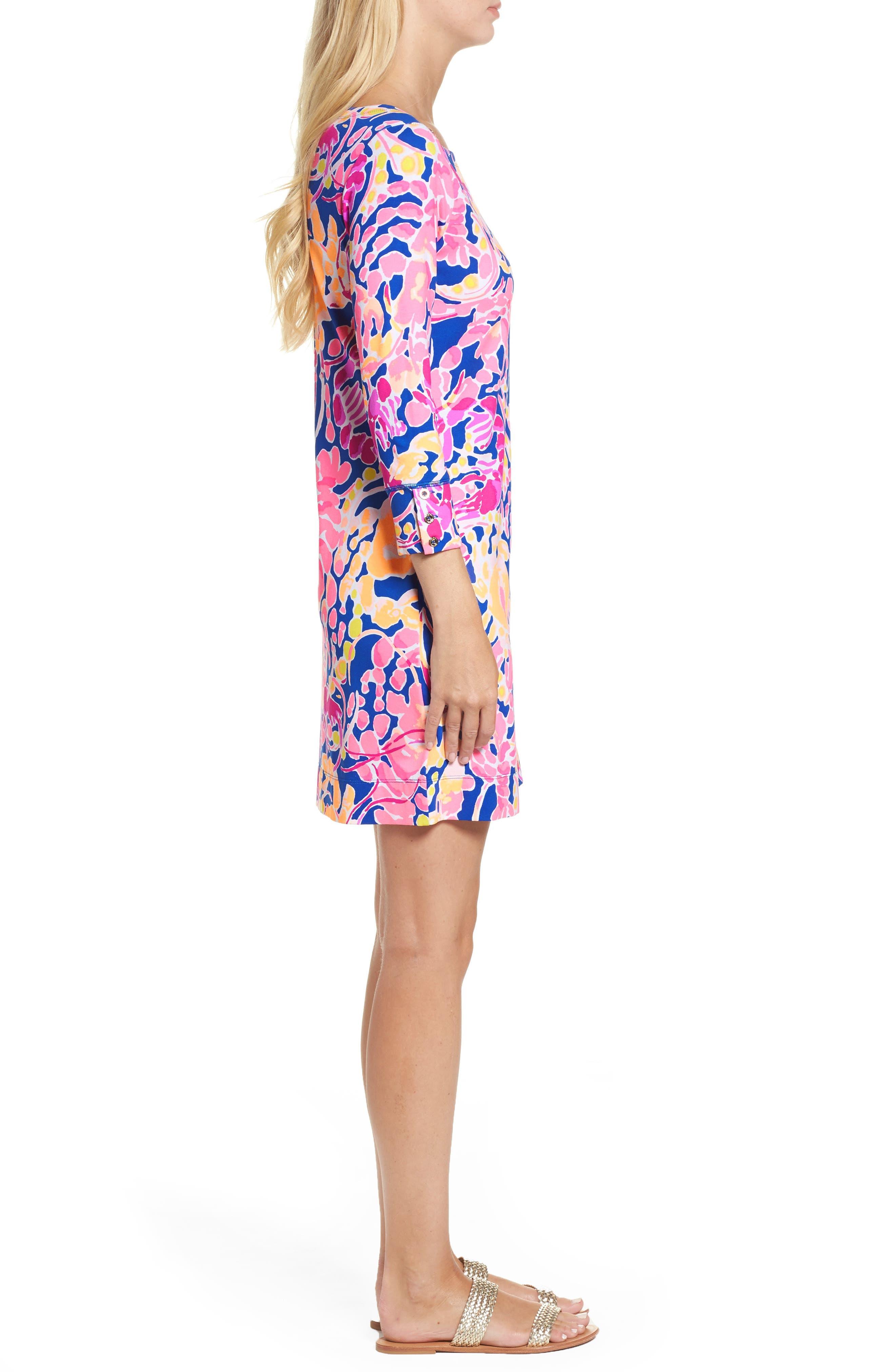 Sophie UPF 50+ Dress,                             Alternate thumbnail 3, color,                             461