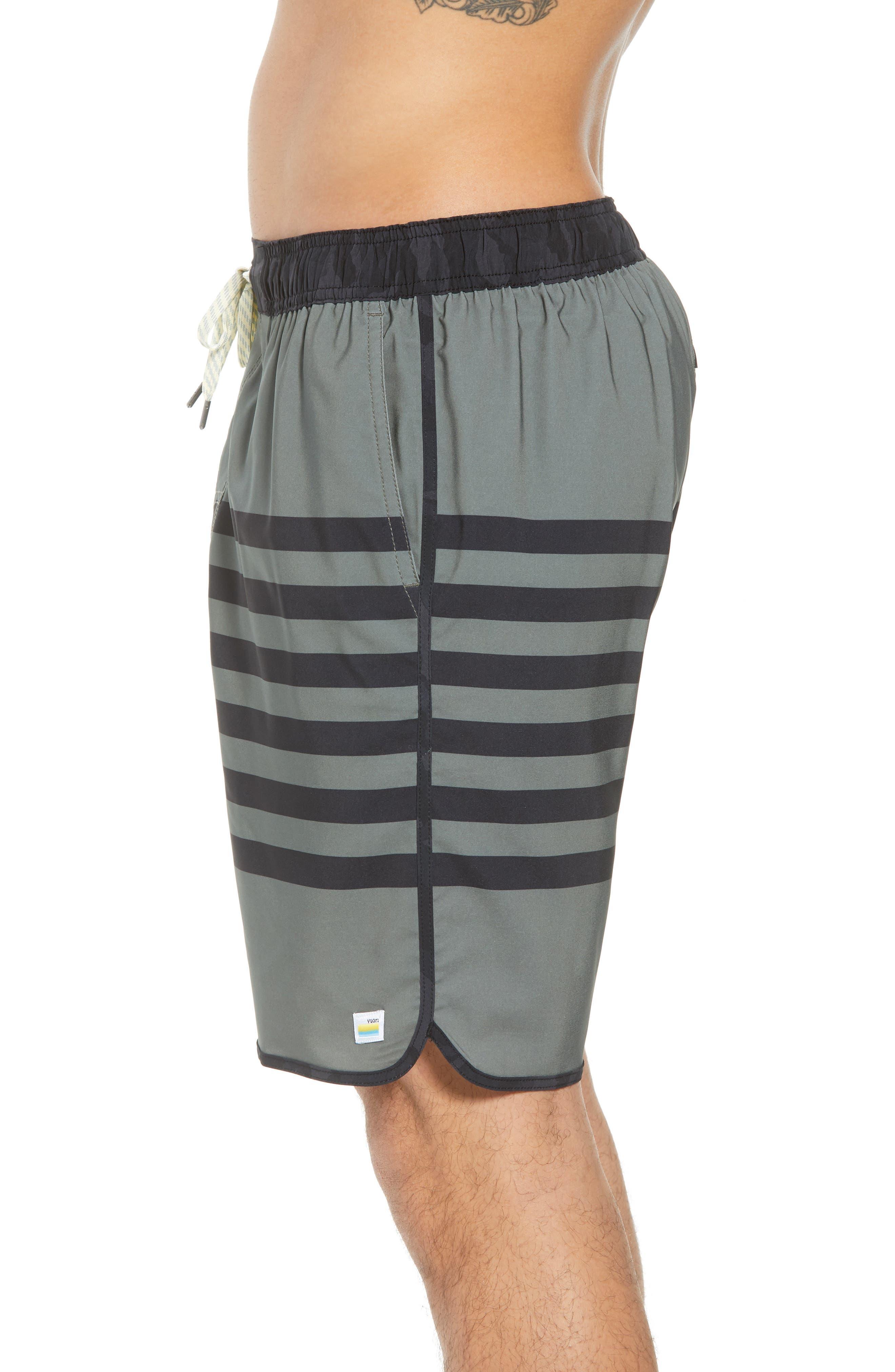 Banks Shorts,                             Alternate thumbnail 4, color,                             ARMY STRIPE
