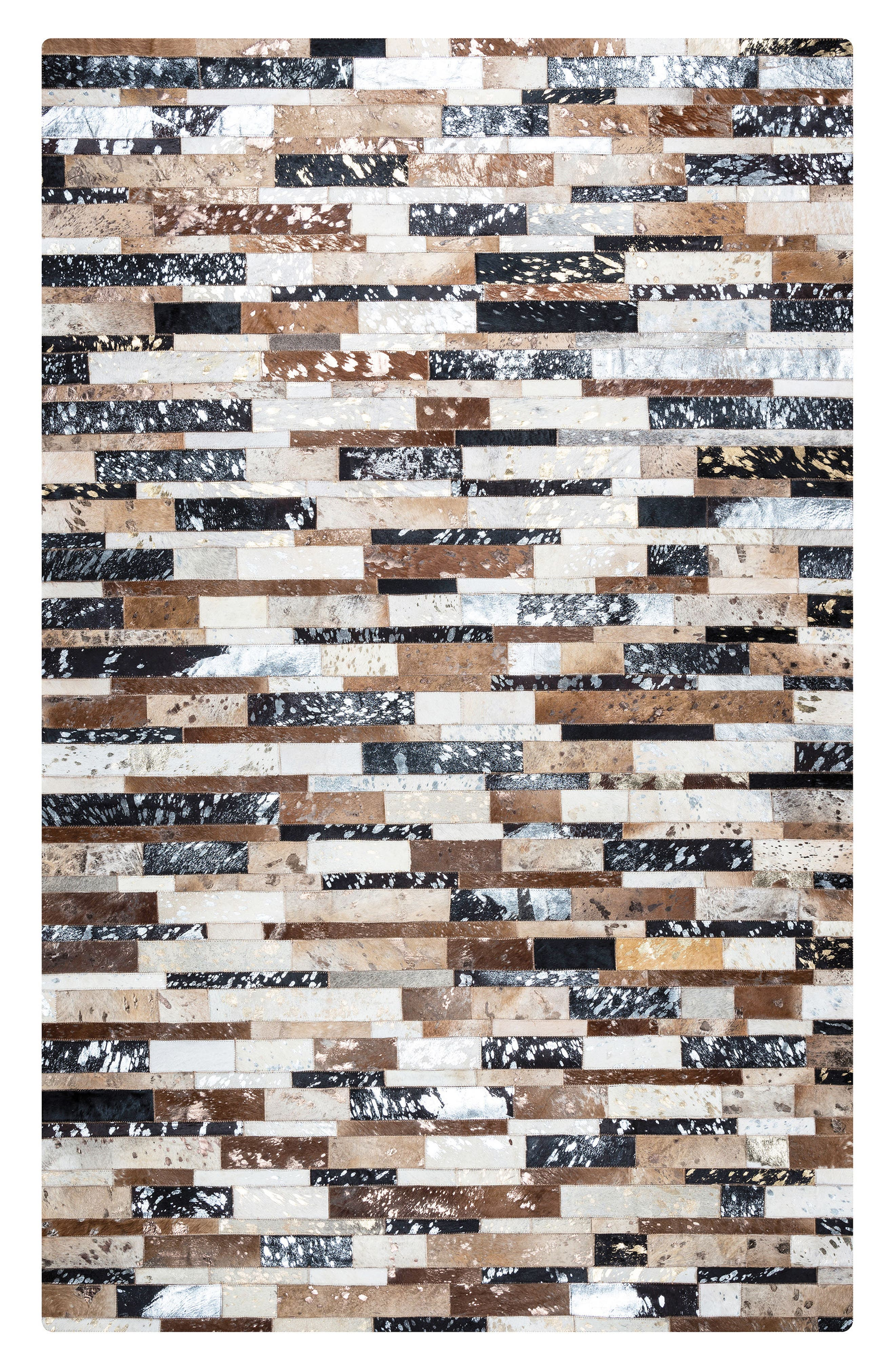 'Cumberland Pass' Hand Sewn Leather Area Rug,                         Main,                         color, 200