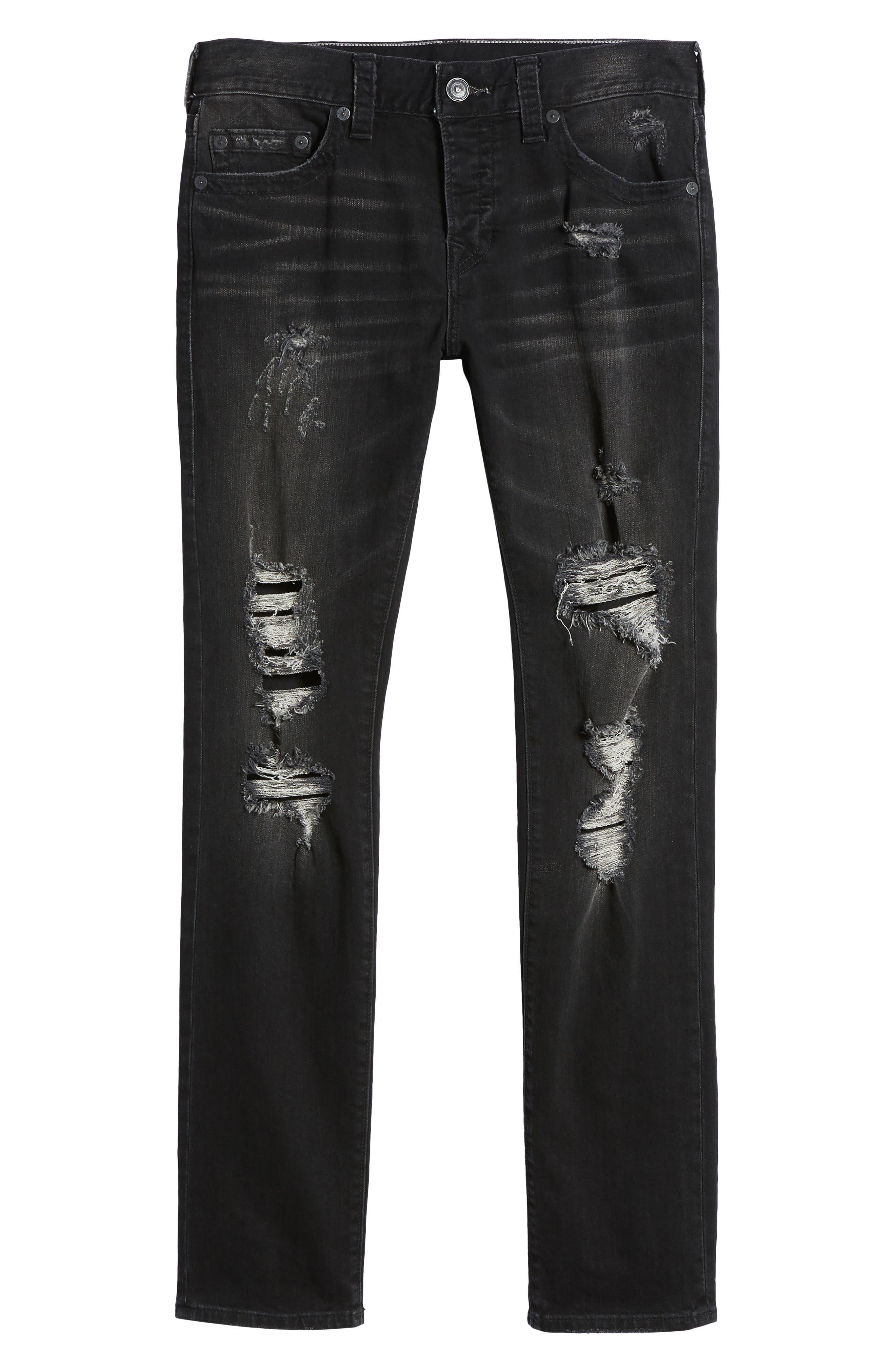 Rocco Skinny Fit Jeans,                             Alternate thumbnail 6, color,                             EQYD DARK STREET