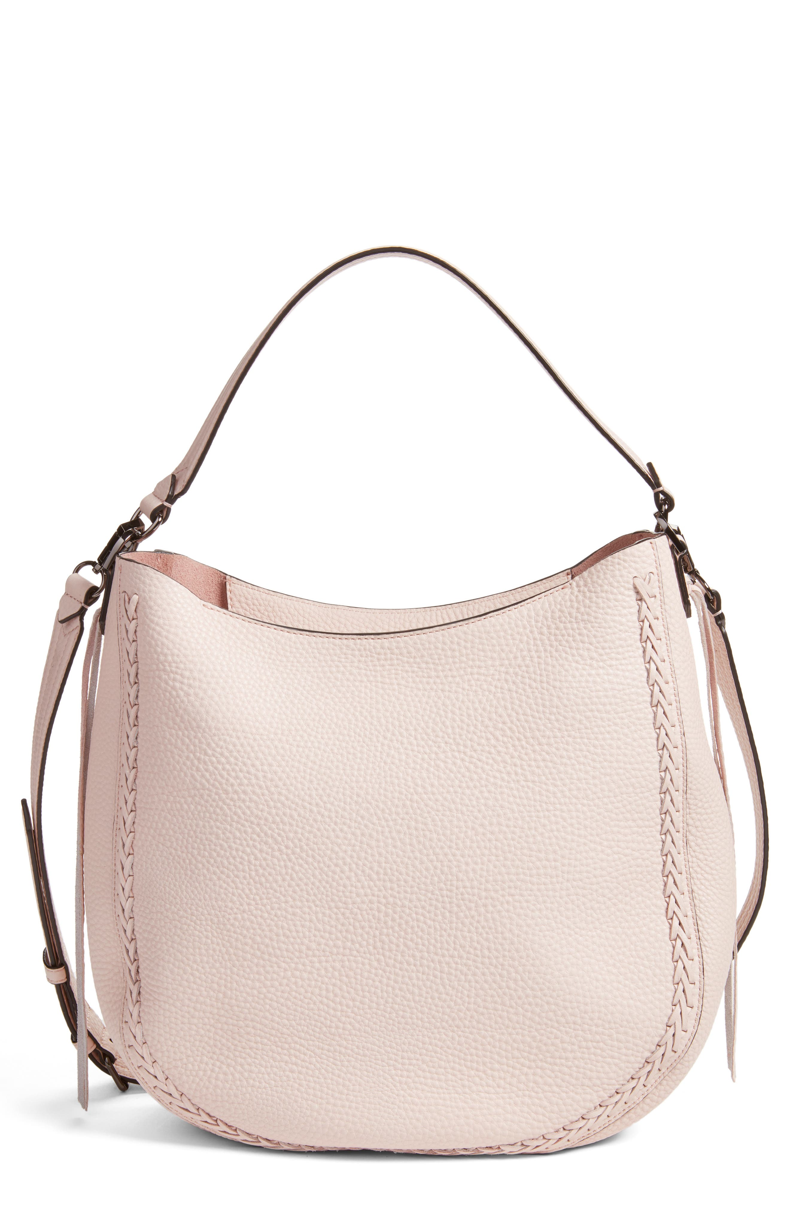Unlined Convertible Whipstitch Hobo,                             Main thumbnail 6, color,