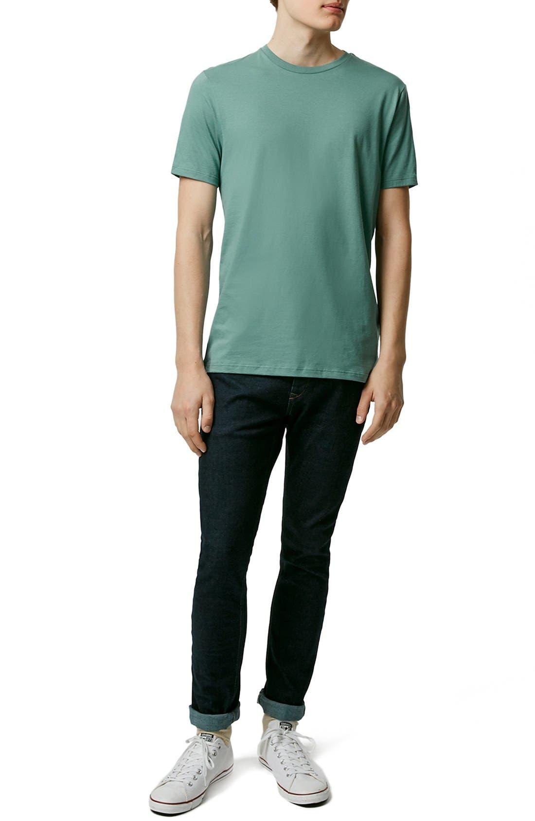 Slim Fit Crewneck T-Shirt,                             Alternate thumbnail 246, color,