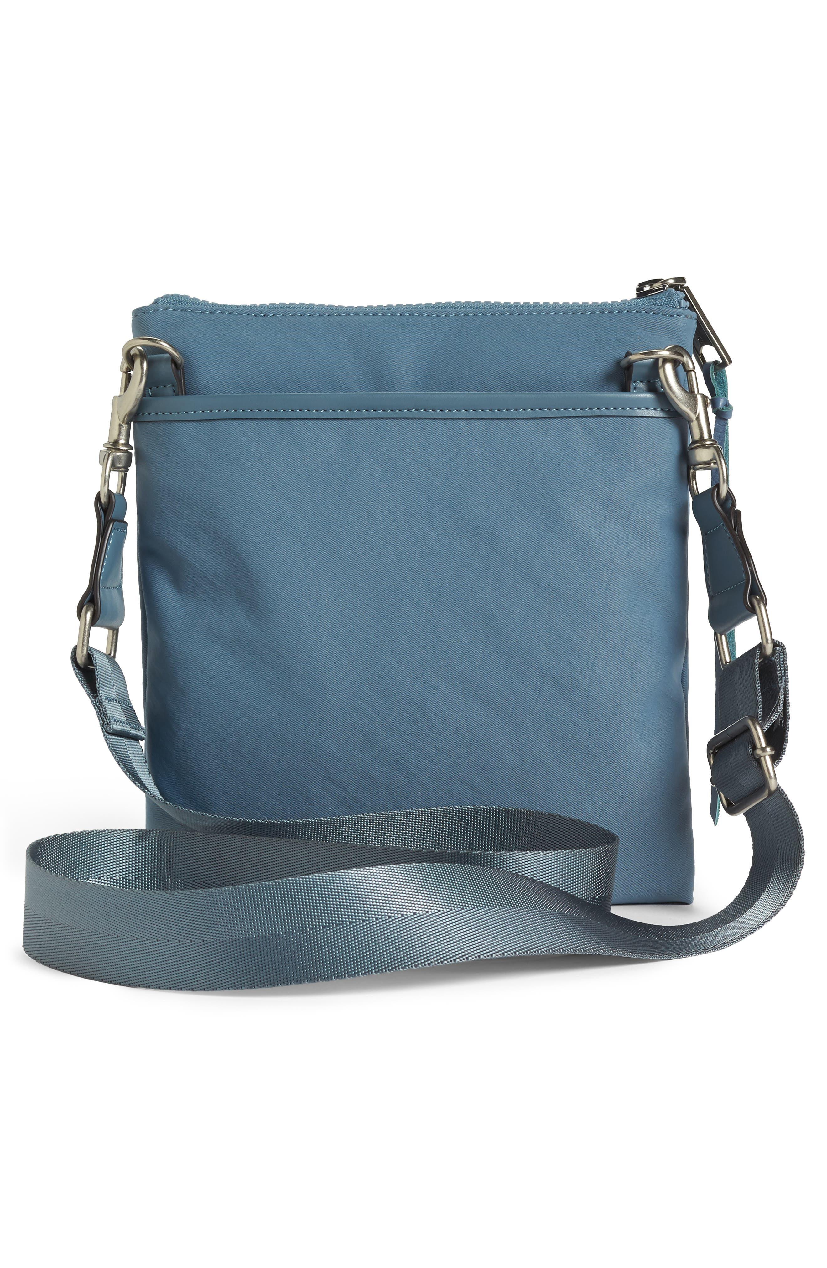 Nylon Flap Crossbody Bag,                             Alternate thumbnail 16, color,