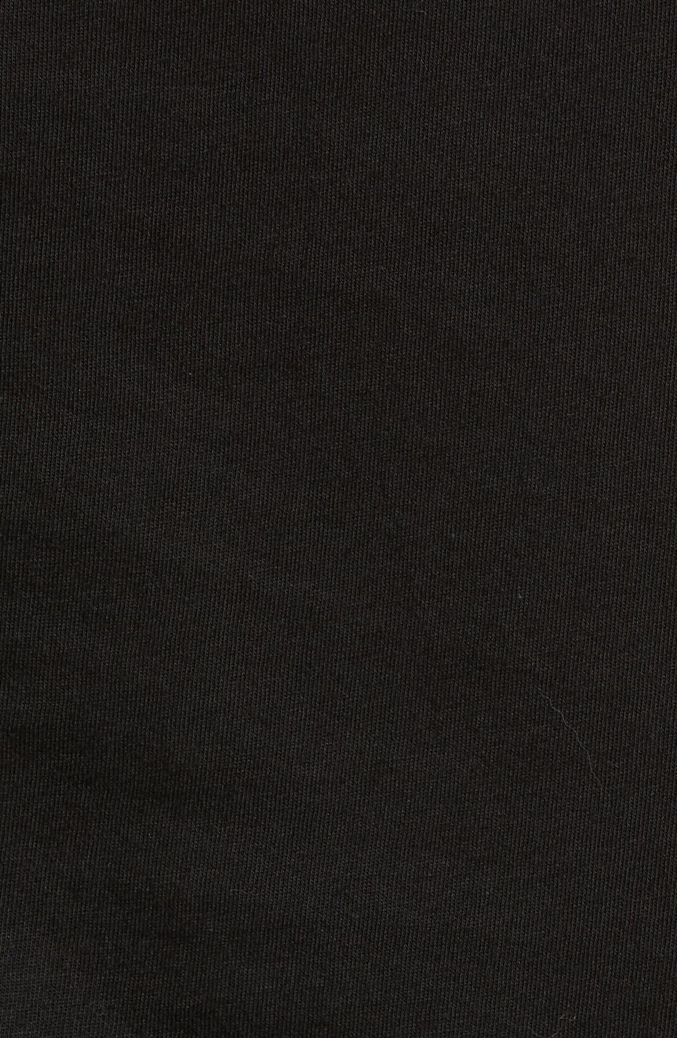 Rager Logo Pocket T-Shirt,                             Alternate thumbnail 5, color,                             001