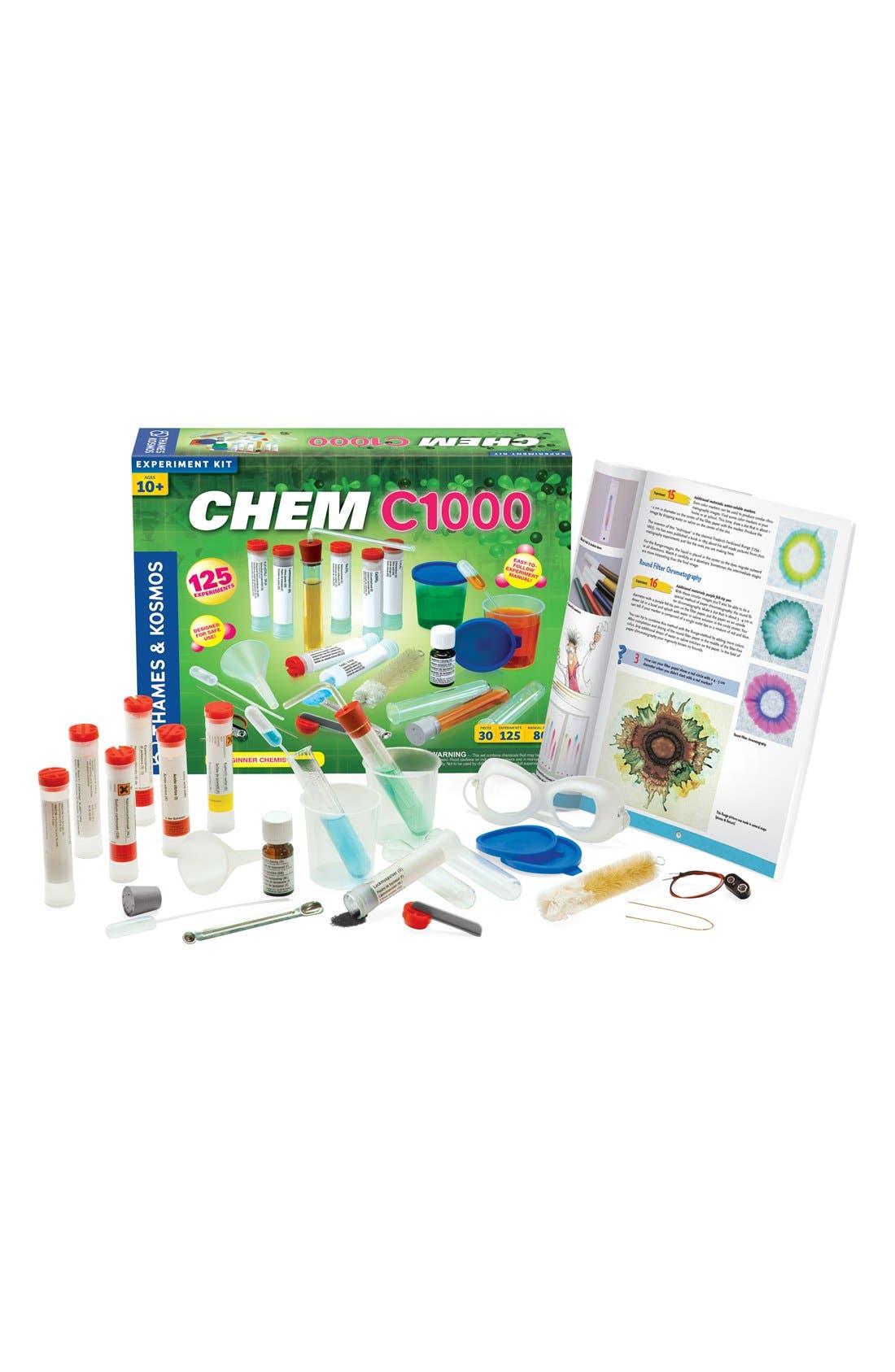 'CHEM C1000 (V 2.0)' Experiment Kit,                         Main,                         color, 000