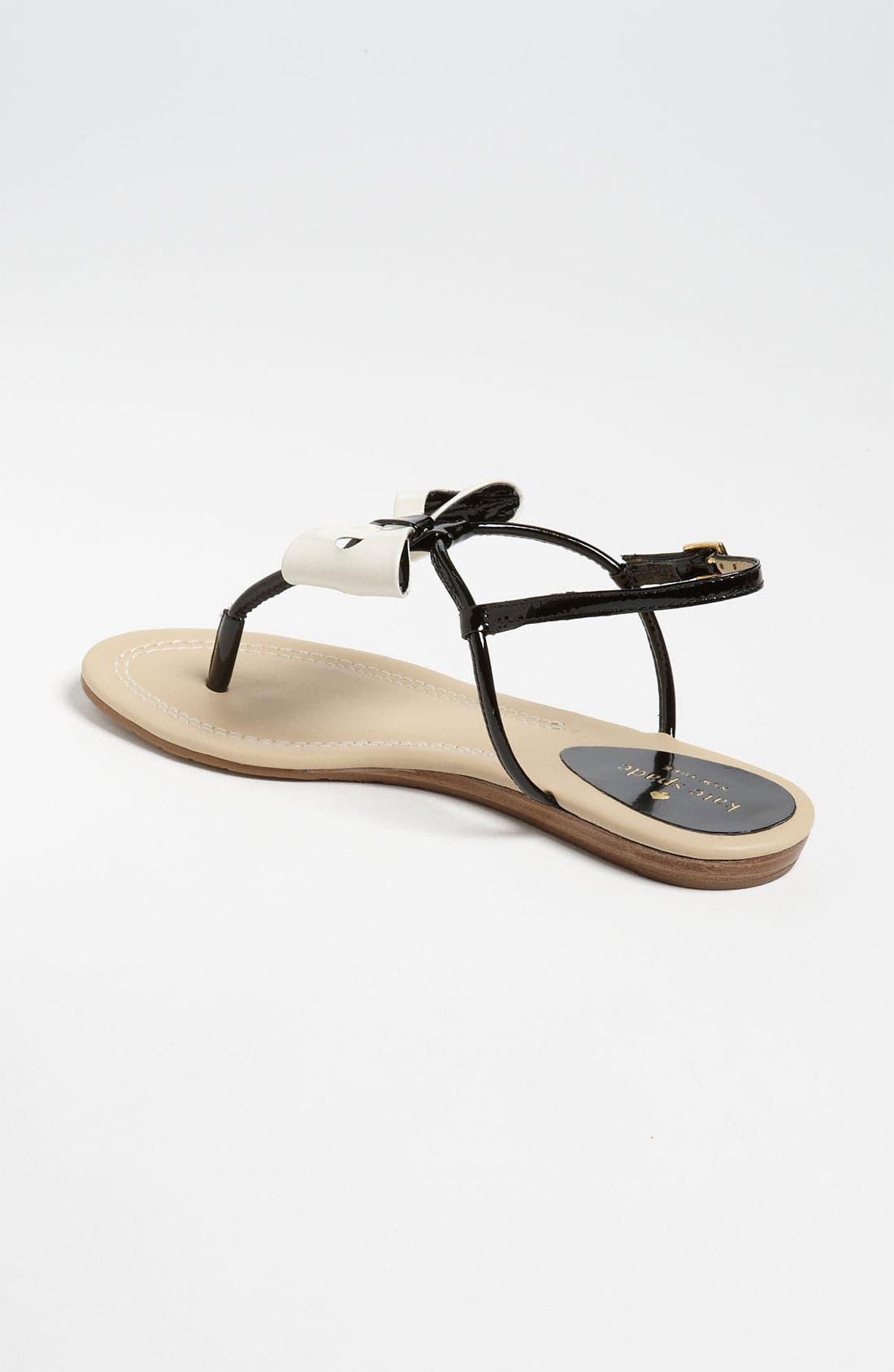 'trendy' sandal,                             Alternate thumbnail 3, color,