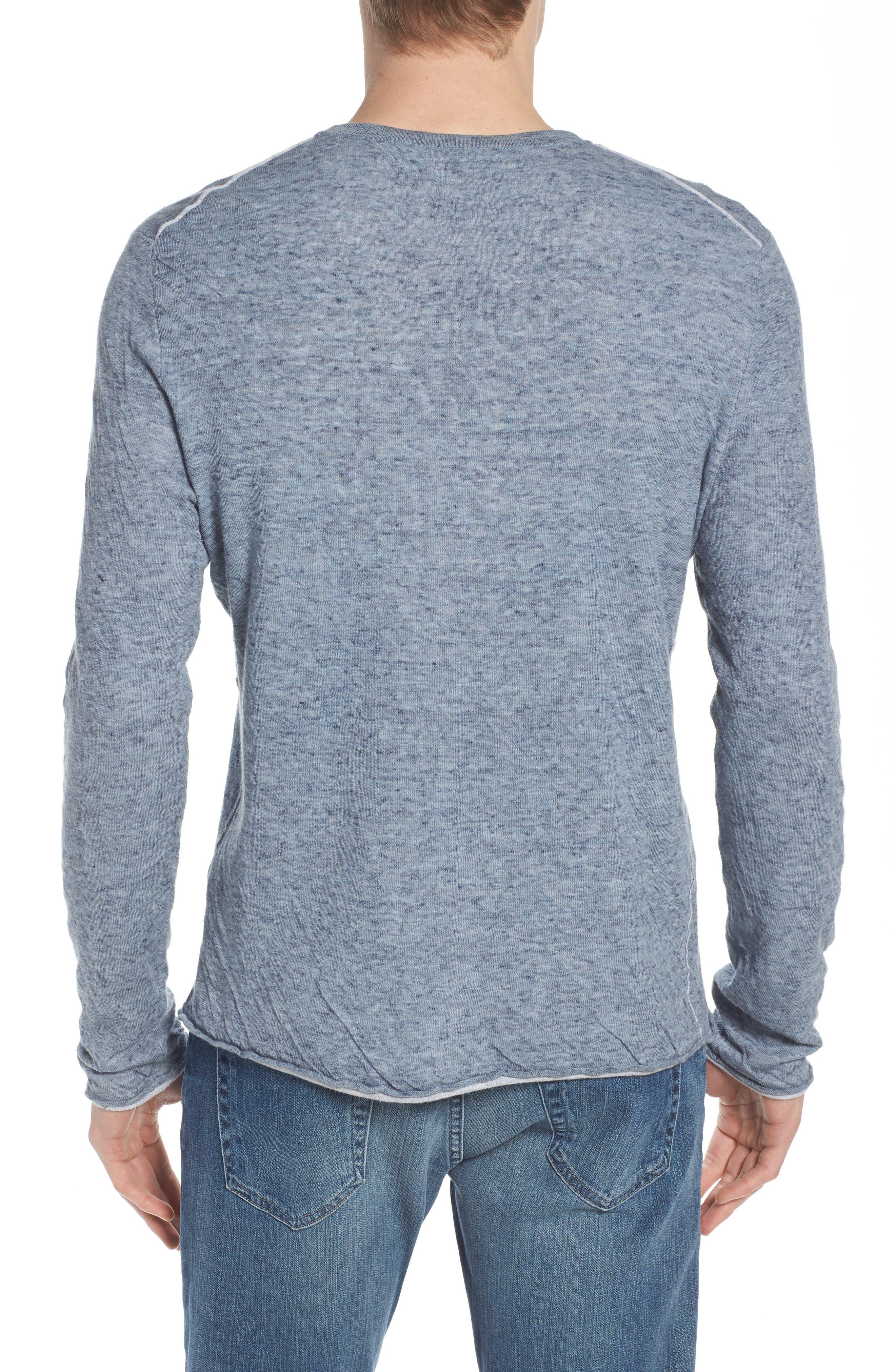 Tripp Regular Fit Crewneck Shirt,                             Alternate thumbnail 2, color,                             LIGHT BLUE