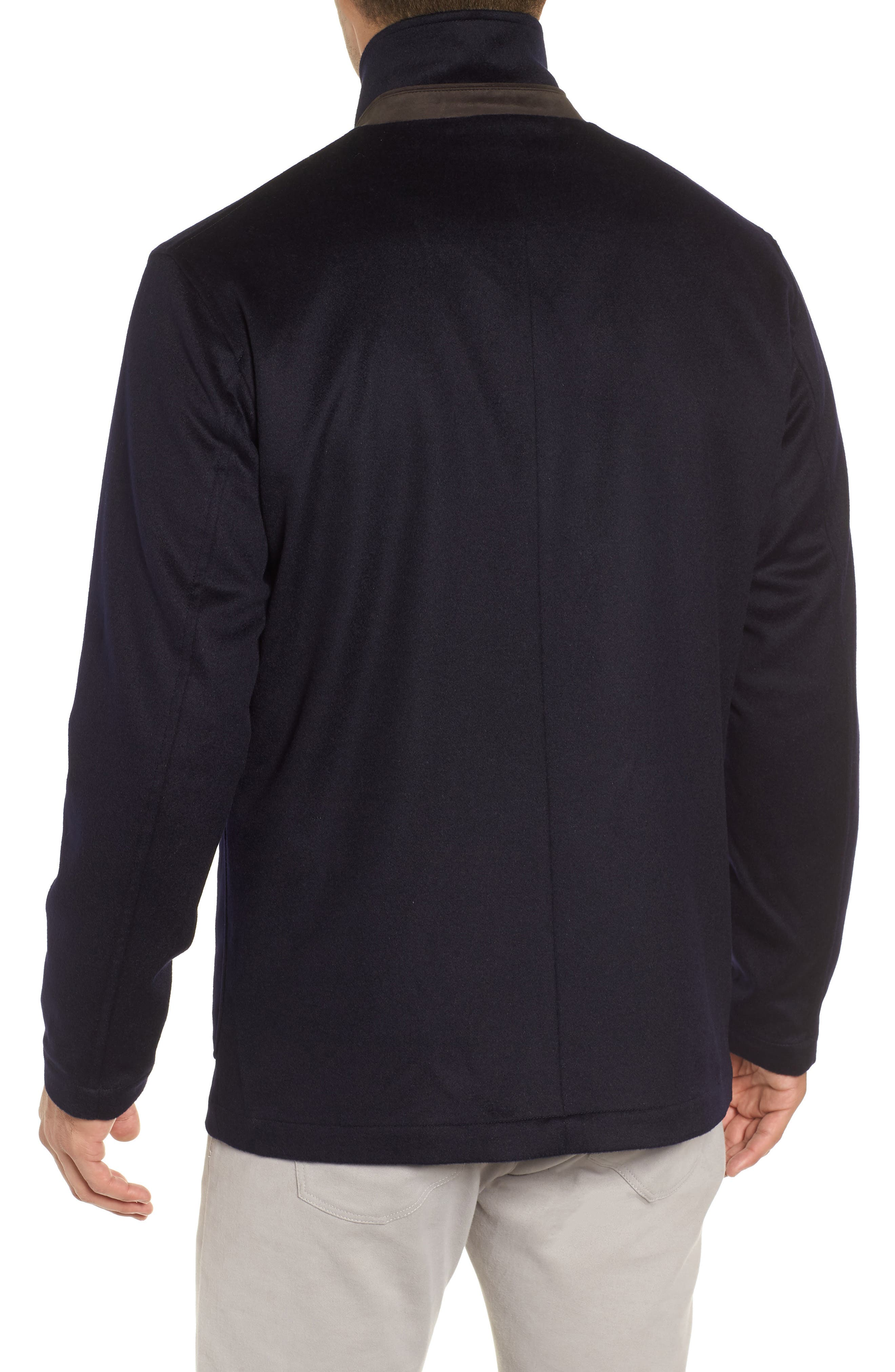 Wade Crown Fleece Jacket,                             Alternate thumbnail 2, color,                             ARCTIC NIGHT