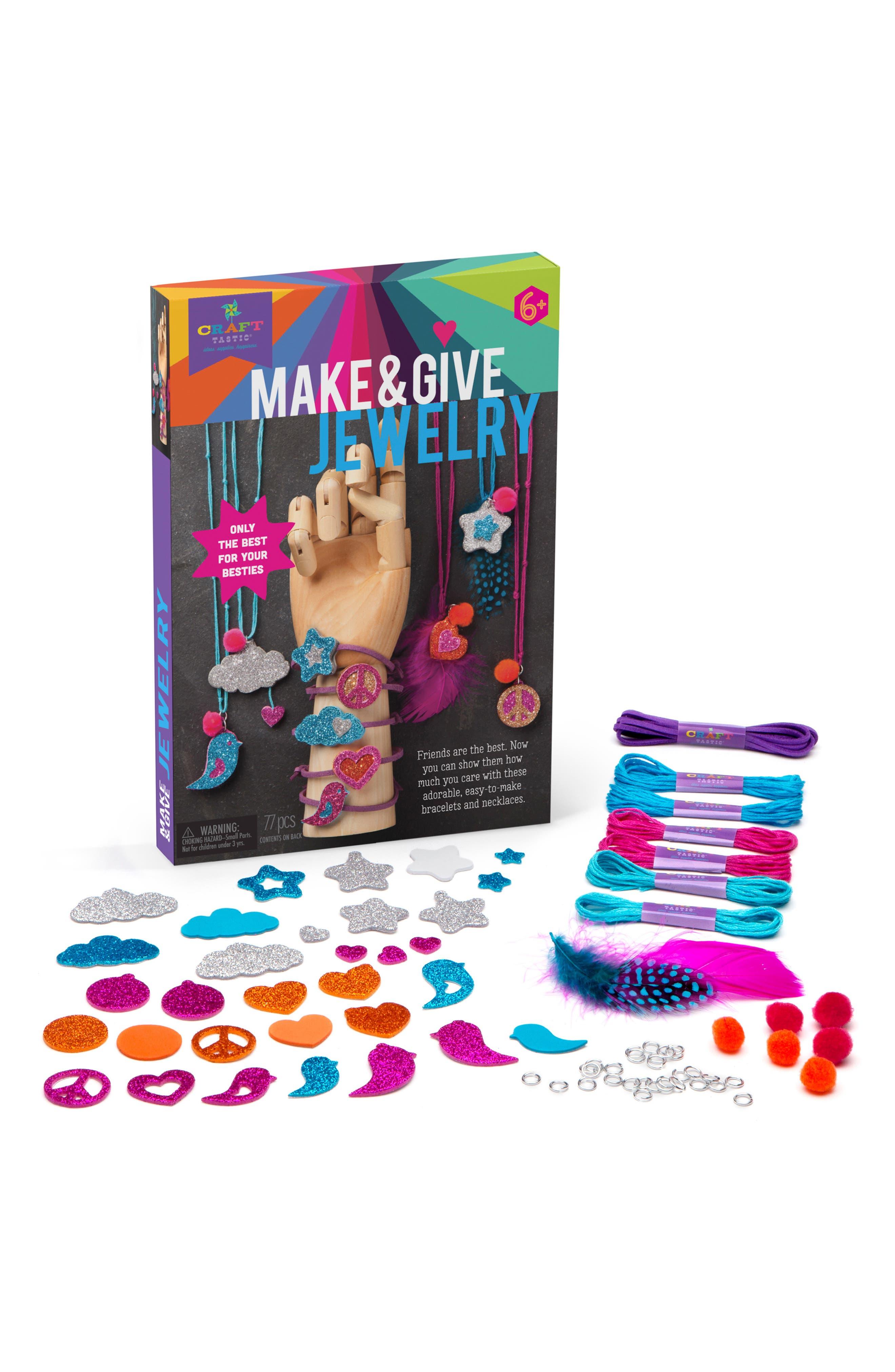 Make & Give Glitter Jewelry Kit,                             Alternate thumbnail 3, color,                             960
